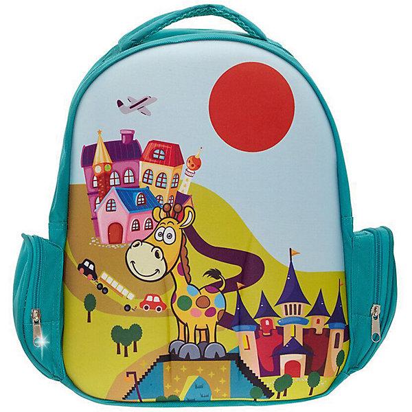 Рюкзак Жираф, цвет мультиРюкзаки<br>Характеристики товара:<br><br>• цвет: мульти;<br>• возраст: от 3 лет;<br>• особенности рюкзака: легкий, с принтом;<br>• вес: 0,3 кг;<br>• размер: 38х28х12 см;<br>• материал: полиэстер;<br>• страна бренда: США;<br>• страна изготовитель: Китай.<br><br>Рюкзак «Жираф» идеально подходят для хранения вещей, которые так необходимы маленьким героям на детской площадке, во время прогулки или на пикнике. <br><br>Просторный внутренний отсек удобен в использовании. Лицевая сторона рюкзака на прочной основе выполнена в виде веселой детской картинки, которая всегда будет радовать Вашего малыша.<br><br>Рюкзак «Жираф» можно купить в нашем интернет-магазине.<br>Ширина мм: 360; Глубина мм: 280; Высота мм: 120; Вес г: 300; Возраст от месяцев: 36; Возраст до месяцев: 72; Пол: Унисекс; Возраст: Детский; SKU: 7054022;