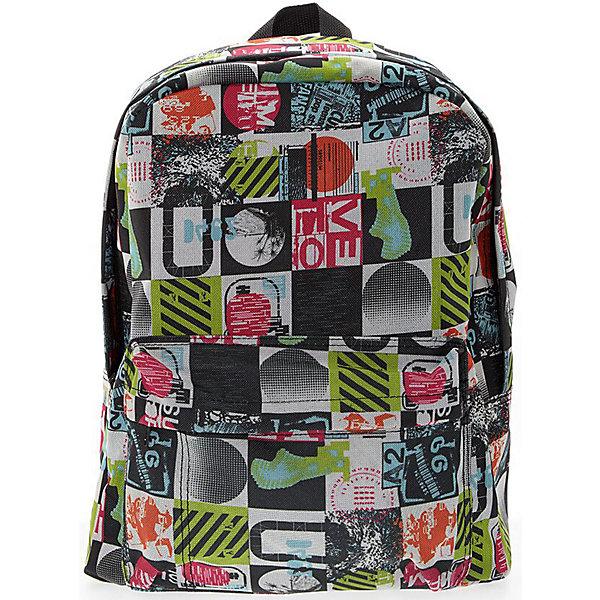 Рюкзак Луна, цвет мультиРюкзаки<br>Характеристики товара:<br><br>• цвет: мульти;<br>• возраст: от 7 лет;<br>• особенности рюкзака: большой, легкий;<br>• вес: 0,3 кг;<br>• размер: 40х32х13 см;<br>• материал: полиэстер;<br>• уплотненная мягкая спинка;<br>• лямки регулируются по росту; <br>уплотненные;<br>• страна бренда: США;<br>• страна изготовитель: Китай.<br><br>Стильный, вместительный и практичный, рюкзак понравится и школьникам, и студентам. Просторный внутренний отсек, наружний карман на молнии будут очень удобны в использовании.<br><br>Рюкзак «Луна» можно купить в нашем интернет-магазине.<br>Ширина мм: 400; Глубина мм: 320; Высота мм: 130; Вес г: 300; Возраст от месяцев: 84; Возраст до месяцев: 720; Пол: Унисекс; Возраст: Детский; SKU: 7054026;