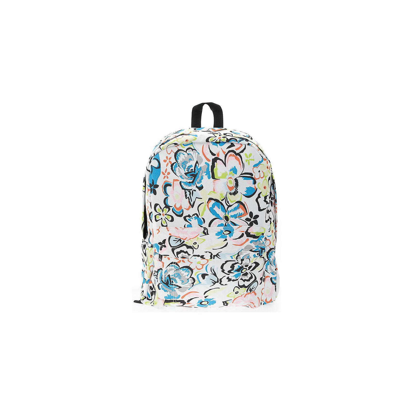 Рюкзак Цветы, цвет мультиРюкзаки<br>Характеристики товара:<br><br>• цвет: мульти;<br>• возраст: от 7 лет;<br>• особенности рюкзака: большой, легкий;<br>• вес: 0,3 кг;<br>• размер: 40х32х13 см;<br>• материал: полиэстер;<br>• уплотненная мягкая спинка;<br>• лямки регулируются по росту; <br>уплотненные;<br>• страна бренда: США;<br>• страна изготовитель: Китай.<br><br>Стильный, вместительный и практичный, рюкзак понравится и школьникам, и студентам. Просторный внутренний отсек, наружний карман на молнии будут очень удобны в использовании.<br><br>Рюкзак «Цветы» можно купить в нашем интернет-магазине.<br><br>Ширина мм: 400<br>Глубина мм: 320<br>Высота мм: 130<br>Вес г: 300<br>Возраст от месяцев: 84<br>Возраст до месяцев: 720<br>Пол: Унисекс<br>Возраст: Детский<br>SKU: 7054027