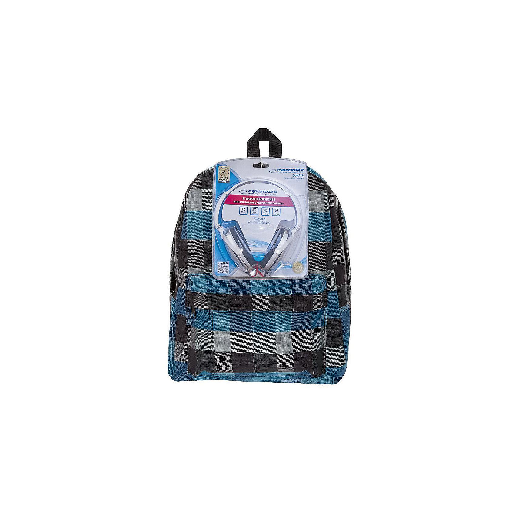 Рюкзак Клетка с наушниками, цвет мульти в клеткуРюкзаки<br>Характеристики товара:<br><br>• цвет: мульти;<br>• возраст: от 7 лет;<br>• особенности рюкзака: большой, легкий;<br>• вес: 0,5 кг;<br>• размер: 40х32х13 см;<br>• материал: полиэстер;<br>• в комплекте наушники;<br>• уплотненная мягкая спинка;<br>• лямки регулируются по росту; <br>уплотненные;<br>• страна бренда: США;<br>• страна изготовитель: Китай.<br><br>Стильный, вместительный и практичный, рюкзак понравится и школьникам, и студентам. Просторный внутренний отсек, наружний карман на молнии будут очень удобны в использовании.<br><br>В комплекте наушники. Настоящая находка для будущей рок-звезды!Длина кабеля 2м, разъем 3,5мм, сопротивление 32 Ом, диапазон часто - 20 Гц-20000 Гц, выходная мощность - 100 мВт.<br><br>Рюкзак «Клетка» с наушниками можно купить в нашем интернет-магазине.<br><br>Ширина мм: 400<br>Глубина мм: 320<br>Высота мм: 130<br>Вес г: 500<br>Возраст от месяцев: 84<br>Возраст до месяцев: 720<br>Пол: Унисекс<br>Возраст: Детский<br>SKU: 7054030