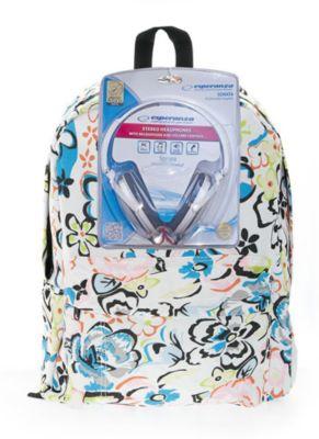 3D Bags –юкзак ÷веты с наушниками, цвет мульти