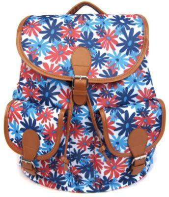 Creative LLC Рюкзак Герберы с 2-мя карманами, цвет мульти фото-1