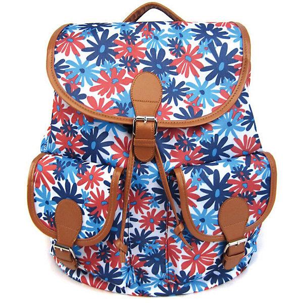 Рюкзак Герберы с 2-мя карманами, цвет мультиРюкзаки<br>Характеристики товара:<br><br>• цвет: мульти;<br>• возраст: от 7 лет;<br>• особенности рюкзака: с принтом;<br>• вес: 0,5 кг;<br>• размер: 39х35х17 см;<br>• материал: полиэстер;<br>• затягивается на шнурок;<br>• сверху клапан застегивается;<br>• два кармана;<br>• лямки и фурнитура с отделкой из экокожи;<br>• страна бренда: США;<br>• страна изготовитель: Китай.<br><br>Стильный рюкзак с яркой расцветкой предназначен для студентов, школьников и всех любителей носить сумки за спиной.<br><br>Рюкзак имеет классический крой, застежку на клапан и двая карманами впереди. Лямки регулируются по высоте. Все швы и застежки рюкзака надежно и крепко пришиты.<br><br>Рюкзак «Герберы» с 2-мя карманами можно купить в нашем интернет-магазине.<br><br>Ширина мм: 390<br>Глубина мм: 350<br>Высота мм: 170<br>Вес г: 500<br>Возраст от месяцев: 84<br>Возраст до месяцев: 720<br>Пол: Унисекс<br>Возраст: Детский<br>SKU: 7054041