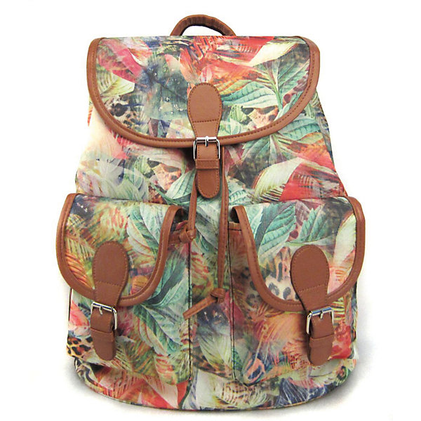 Рюкзак Флора лета с 2-мя карманами, цвет мультиРюкзаки<br>Характеристики товара:<br><br>• цвет: мульти;<br>• возраст: от 7 лет;<br>• особенности рюкзака: с принтом;<br>• вес: 0,5 кг;<br>• размер: 39х35х17 см;<br>• материал: полиэстер;<br>• затягивается на шнурок;<br>• сверху клапан застегивается;<br>• два кармана;<br>• лямки и фурнитура с отделкой из экокожи;<br>• страна бренда: США;<br>• страна изготовитель: Китай.<br><br>Стильный рюкзак с яркой расцветкой предназначен для студентов, школьников и всех любителей носить сумки за спиной.<br><br>Рюкзак имеет классический крой, застежку на клапан и двая карманами впереди. Лямки регулируются по высоте. Все швы и застежки рюкзака надежно и крепко пришиты.<br><br>Рюкзак «Флора лета» с 2-мя карманами можно купить в нашем интернет-магазине.<br>Ширина мм: 390; Глубина мм: 350; Высота мм: 170; Вес г: 500; Возраст от месяцев: 84; Возраст до месяцев: 720; Пол: Унисекс; Возраст: Детский; SKU: 7054042;