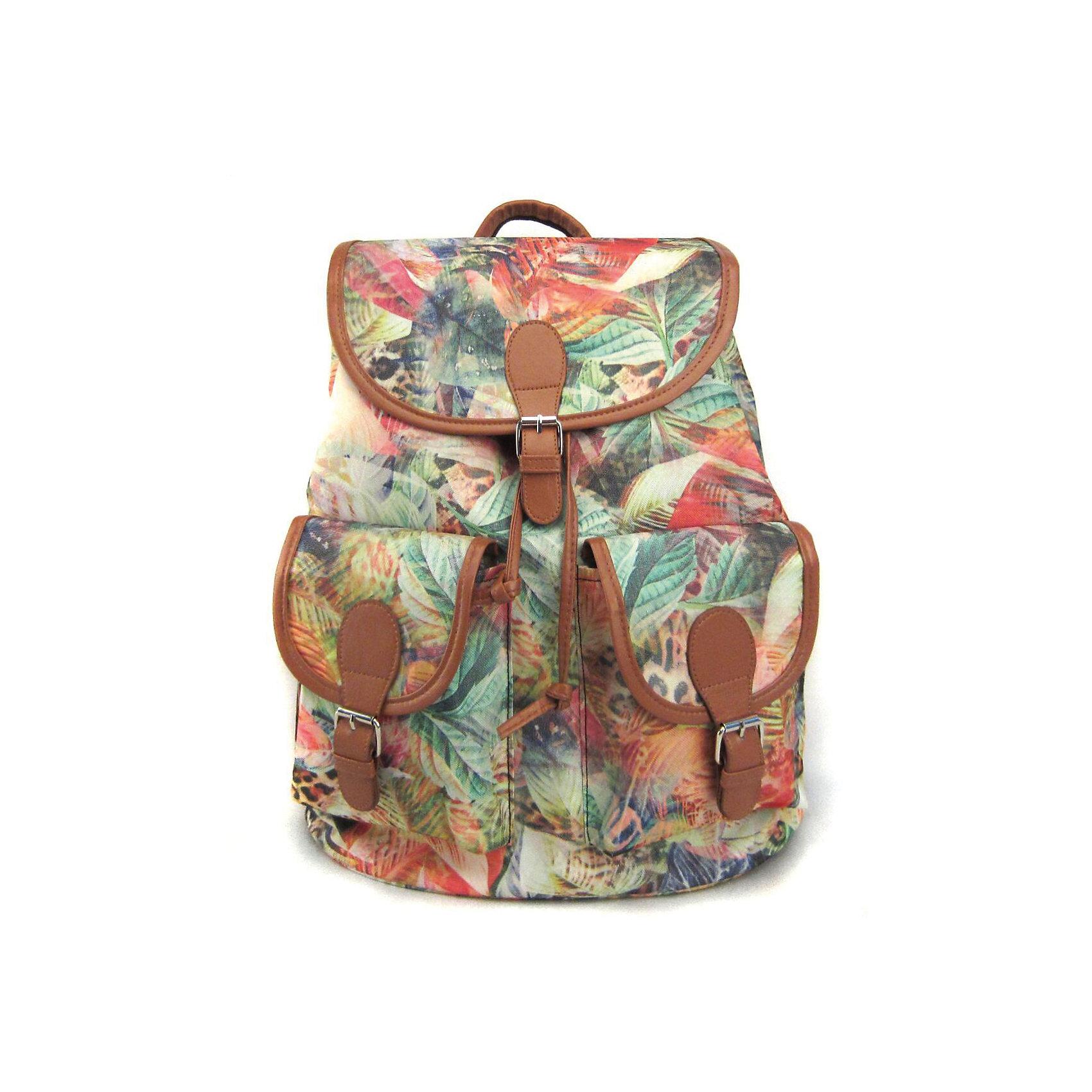 Рюкзак Флора лета с 2-мя карманами, цвет мультиРюкзаки<br>Вес: 0,5 кг<br>Размер: 39х35х17 см<br>Состав: рюкзак<br>Наличие светоотражающих элементов: нет<br>Материал: полиэстер<br><br>Ширина мм: 390<br>Глубина мм: 350<br>Высота мм: 170<br>Вес г: 500<br>Возраст от месяцев: 84<br>Возраст до месяцев: 720<br>Пол: Унисекс<br>Возраст: Детский<br>SKU: 7054042