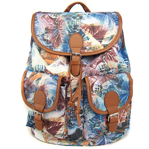 Рюкзак Флора для тебя с 2-мя карманами, цвет мультиРюкзаки<br>Характеристики товара:<br><br>• цвет: мульти;<br>• возраст: от 7 лет;<br>• особенности рюкзака: с принтом;<br>• вес: 0,5 кг;<br>• размер: 39х35х17 см;<br>• материал: полиэстер;<br>• затягивается на шнурок;<br>• сверху клапан застегивается;<br>• два кармана;<br>• лямки и фурнитура с отделкой из экокожи;<br>• страна бренда: США;<br>• страна изготовитель: Китай.<br><br>Стильный рюкзак с яркой расцветкой предназначен для студентов, школьников и всех любителей носить сумки за спиной.<br><br>Рюкзак имеет классический крой, застежку на клапан и двая карманами впереди. Лямки регулируются по высоте. Все швы и застежки рюкзака надежно и крепко пришиты.<br><br>Рюкзак «Флора для тебя» с 2-мя карманами можно купить в нашем интернет-магазине.<br><br>Ширина мм: 390<br>Глубина мм: 350<br>Высота мм: 170<br>Вес г: 500<br>Возраст от месяцев: 84<br>Возраст до месяцев: 720<br>Пол: Унисекс<br>Возраст: Детский<br>SKU: 7054043