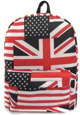 Creative LLC Рюкзак American Flag с 1 карманом, цвет мульти