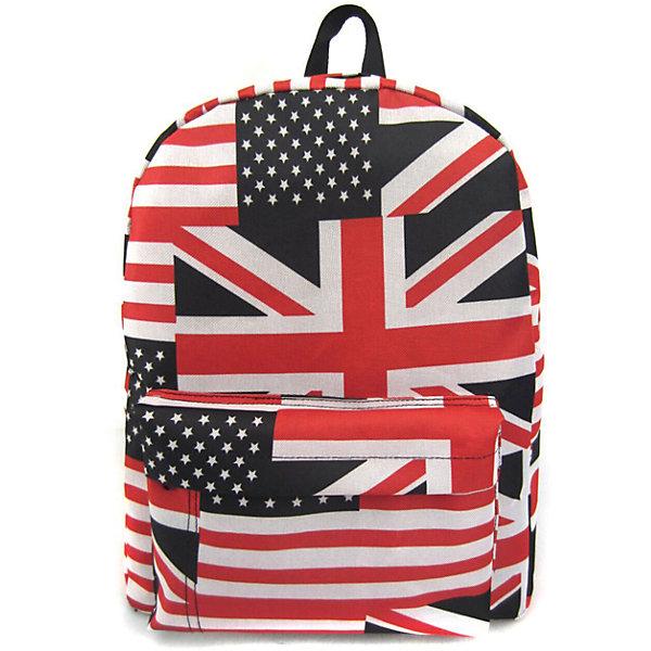 Рюкзак American Flag с 1 карманом, цвет мультиРюкзаки<br>Характеристики товара:<br><br>• цвет: мульти;<br>• возраст: от 7 лет;<br>• особенности рюкзака: большой, легкий, с принтом;<br>• вес: 0,3 кг;<br>• размер: 40х32х13 см;<br>• материал: полиэстер;<br>• усиленная спинка и дно рюкзака;<br>• лямки регулируются по росту; <br>• основное отделение на молнии;<br>• карман на лицевой стороне рюкзака;<br>• страна бренда: США;<br>• страна изготовитель: Китай.<br><br>Рюкзак «American Flag» - очень удобная и вместительная модель. <br><br>Лямки регулируются по росту. Просторный внутренний отсек, наружний карман на молнии будут очень удобны в использовании. Благодаря текстильной ручке рюкзак можно повесить. Выполнен рюкзак из влагостойкой ткани. <br><br>Рюкзак «American Flag» с 1 карманом можно купить в нашем интернет-магазине.<br><br>Ширина мм: 400<br>Глубина мм: 320<br>Высота мм: 130<br>Вес г: 300<br>Возраст от месяцев: 84<br>Возраст до месяцев: 720<br>Пол: Унисекс<br>Возраст: Детский<br>SKU: 7054045
