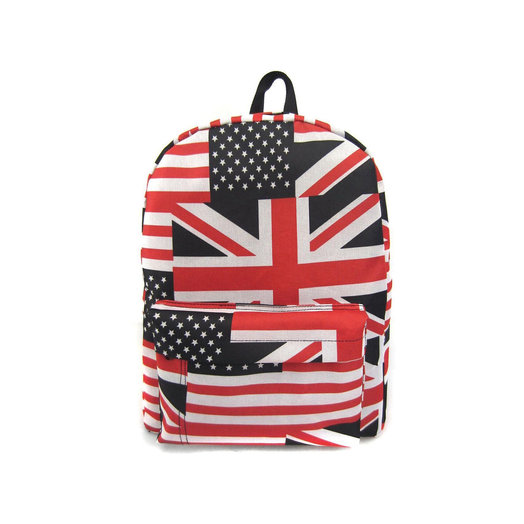 Рюкзак American Flag с 1 карманом, цвет мультиРюкзаки<br>Вес: 0,3 кг<br>Размер: 40х32х13 см<br>Состав: рюкзак<br>Наличие светоотражающих элементов: нет<br>Материал: полиэстер<br><br>Ширина мм: 400<br>Глубина мм: 320<br>Высота мм: 130<br>Вес г: 300<br>Возраст от месяцев: 84<br>Возраст до месяцев: 720<br>Пол: Унисекс<br>Возраст: Детский<br>SKU: 7054045