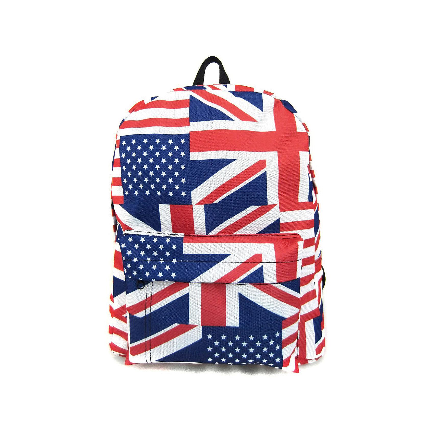 Рюкзак British Flag с 1 карманом, цвет мультиРюкзаки<br>Вес: 0,3 кг<br>Размер: 40х32х13 см<br>Состав: рюкзак<br>Наличие светоотражающих элементов: нет<br>Материал: полиэстер<br><br>Ширина мм: 400<br>Глубина мм: 320<br>Высота мм: 130<br>Вес г: 300<br>Возраст от месяцев: 84<br>Возраст до месяцев: 720<br>Пол: Унисекс<br>Возраст: Детский<br>SKU: 7054046