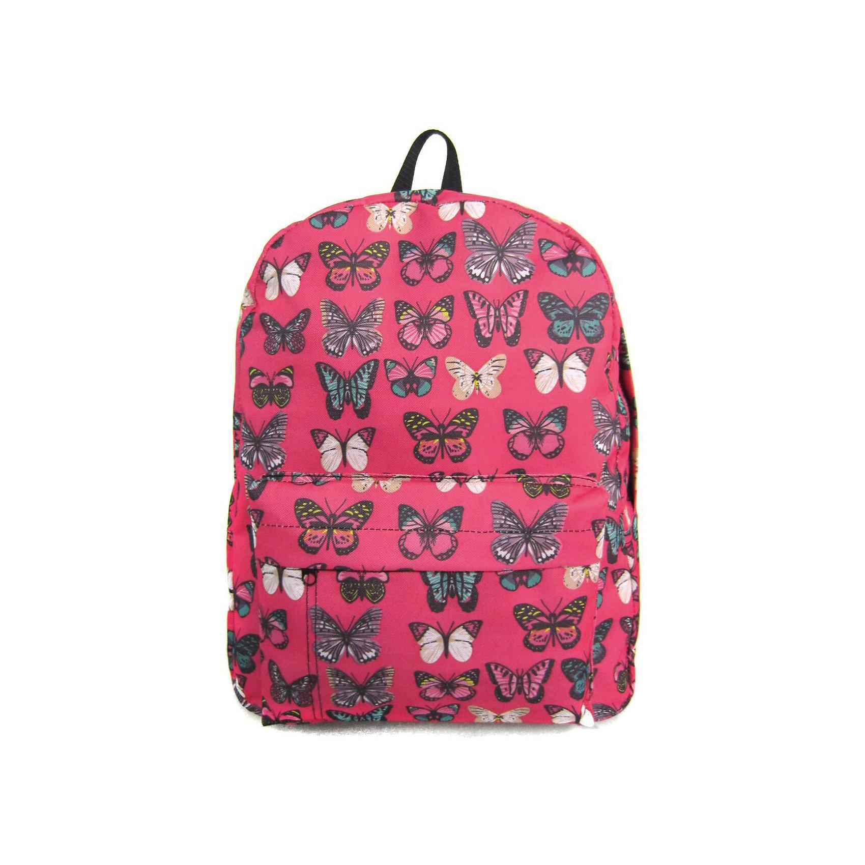 Рюкзак Махаоны с 1 карманом, цвет розовыйРюкзаки<br>Характеристики товара:<br><br>• цвет: розовый;<br>• возраст: от 7 лет;<br>• особенности рюкзака: большой, легкий, с принтом;<br>• вес: 0,3 кг;<br>• размер: 40х32х13 см;<br>• материал: полиэстер;<br>• усиленная спинка и дно рюкзака;<br>• лямки регулируются по росту; <br>• основное отделение на молнии;<br>• карман на лицевой стороне рюкзака;<br>• страна бренда: США;<br>• страна изготовитель: Китай.<br><br>Рюкзак «Махаоны» - очень удобная и вместительная модель. <br><br>Лямки регулируются по росту. Просторный внутренний отсек, наружний карман на молнии будут очень удобны в использовании. Благодаря текстильной ручке рюкзак можно повесить. Выполнен рюкзак из влагостойкой ткани. <br><br>Рюкзак «Махаоны» с 1 карманом можно купить в нашем интернет-магазине.<br><br>Ширина мм: 400<br>Глубина мм: 320<br>Высота мм: 130<br>Вес г: 300<br>Возраст от месяцев: 84<br>Возраст до месяцев: 720<br>Пол: Унисекс<br>Возраст: Детский<br>SKU: 7054049