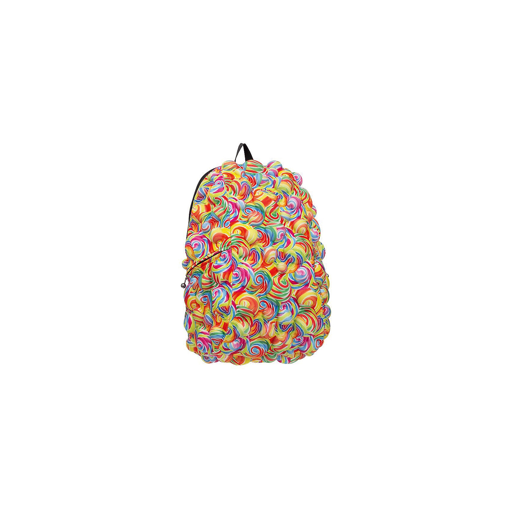 Рюкзак Bubble Full Lollipop, цвет мультиРюкзаки<br>Вес: 0,8 кг<br>Размер: 46х36х20 см<br>Состав: рюкзак<br>Наличие светоотражающих элементов: нет<br>Материал: полиспандекс<br><br>Ширина мм: 460<br>Глубина мм: 360<br>Высота мм: 200<br>Вес г: 800<br>Возраст от месяцев: 60<br>Возраст до месяцев: 720<br>Пол: Унисекс<br>Возраст: Детский<br>SKU: 7054055
