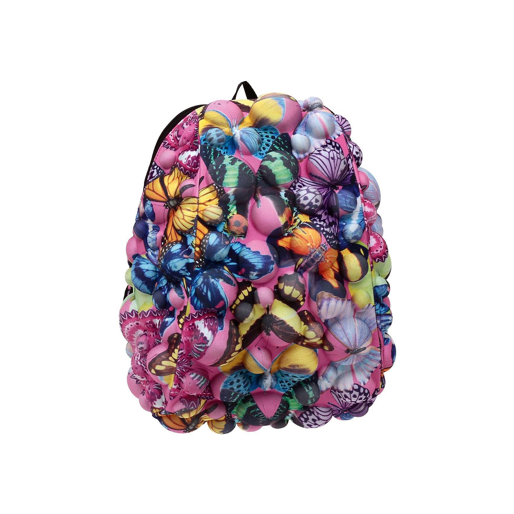 Рюкзак Bubble Half Butterfly, цвет мультиРюкзаки<br>Вес: 0,6 кг<br>Размер: 36х31х15 см<br>Состав: рюкзак<br>Наличие светоотражающих элементов: нет<br>Материал: полиспандекс<br><br>Ширина мм: 360<br>Глубина мм: 310<br>Высота мм: 150<br>Вес г: 600<br>Возраст от месяцев: 36<br>Возраст до месяцев: 720<br>Пол: Унисекс<br>Возраст: Детский<br>SKU: 7054057