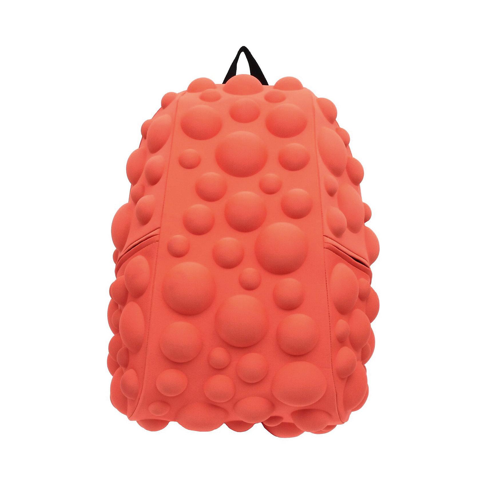 Рюкзак Bubble Full, цвет NEON оранжево-персиковыйРюкзаки<br>Вес: 0,8 кг<br>Размер: 46х36х20 см<br>Состав: рюкзак<br>Наличие светоотражающих элементов: нет<br>Материал: полиспандекс<br><br>Ширина мм: 460<br>Глубина мм: 360<br>Высота мм: 200<br>Вес г: 800<br>Возраст от месяцев: 60<br>Возраст до месяцев: 720<br>Пол: Унисекс<br>Возраст: Детский<br>SKU: 7054058