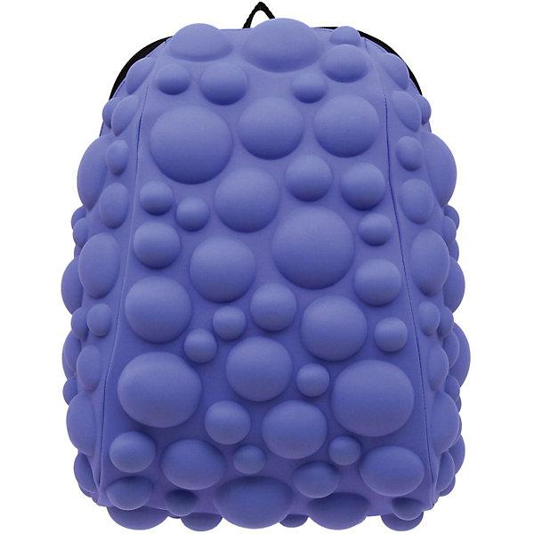 Рюкзак Bubble Half, цвет NEON сиреневыйРюкзаки<br>Характеристики товара:<br><br>• цвет: Neon сиреневый;<br>• возраст: от 3 лет;<br>• особенности модели: с пузырями;<br>• вес: 0,6 кг;<br>• размер: 36х31х15 см;<br>• материал: полиспандекс; <br>• ортопедическая спинка;<br>• страна бренда: США;<br>• страна изготовитель: Китай.<br><br>Яркие стильные и современные рюкзаки с пузырьками от американского бренда MadPax станут неотъемлемой частью модного образа вашего ребенка.<br><br>Рюкзак довольно вместительный, внутри два отделения: большое и поменьше для папки формата А4 или планшета с диагональю до 13 дюймов.  Эргономичные ручки дают возможность без лишних усилий переносить тяжелый рюкзак за спиной. <br><br>Лямки оснащены фиксатором в области груди. Вентилируемым материал на ортопедической спинке создаст комфорт. Этот рюкзак придаст индивидуальность и неповторимый стиль его владельцу.<br><br>Рюкзак «Bubble Half» можно купить в нашем интернет-магазине.<br><br>Ширина мм: 360<br>Глубина мм: 310<br>Высота мм: 150<br>Вес г: 600<br>Возраст от месяцев: 36<br>Возраст до месяцев: 720<br>Пол: Унисекс<br>Возраст: Детский<br>SKU: 7054060