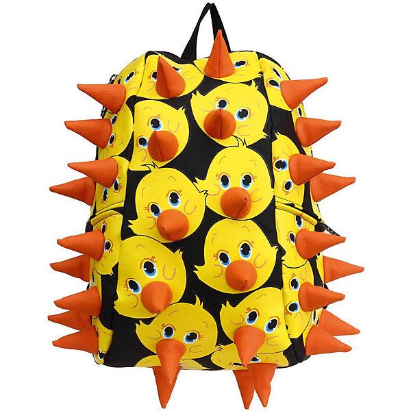 Рюкзак Rex Full Lucky Duck (утки)Рюкзаки<br>Характеристики товара:<br><br>• цвет: Lucky Duck (утки);<br>• возраст: от 5 лет;<br>• особенности модели: с пузырями;<br>• вес: 0,8 кг;<br>• размер: 46х36х20 см;<br>• материал: полиуретан; <br>• большое внутреннее отделение;<br>• два боковых кармашка на застежках-молниях; <br>• дополнительный карман на задней стенке рюкзака;<br>• спинка с вентиляцией;<br>• ремни мягкие, удобные, регулируются по длине;<br>• страна бренда: США;<br>• страна изготовитель: Китай.<br><br>Удобный рюкзак для детей Madpax Rex Full непременно понравится малышам, которые уже ходят в школу. Малый вес рюкзака позволяет ребенку носить с собой все необходимое для учебы, при этом не перегружая позвоночник. <br><br>Стильный шипованный дизайн выделяют рюкзак Мэдпакс Рекс Фулл среди аналогичных моделей. Удобное расположение дополнительных кармашков позволяет ребенку с легкостью доставать необходимые ему вещи. Специальная спинка рюкзака Рекс Фулл обеспечивает постоянную вентиляцию спины малыша. Мягкие ремни регулируются в зависимости от роста ребенка.<br><br>Рюкзак Rex Full – это стильная и удобная модель, которая предназначена для ежедневного ношения.<br><br>Рюкзак «Rex Full» Lucky Duck можно купить в нашем интернет-магазине.<br><br>Ширина мм: 460<br>Глубина мм: 360<br>Высота мм: 200<br>Вес г: 800<br>Возраст от месяцев: 60<br>Возраст до месяцев: 720<br>Пол: Унисекс<br>Возраст: Детский<br>SKU: 7054062