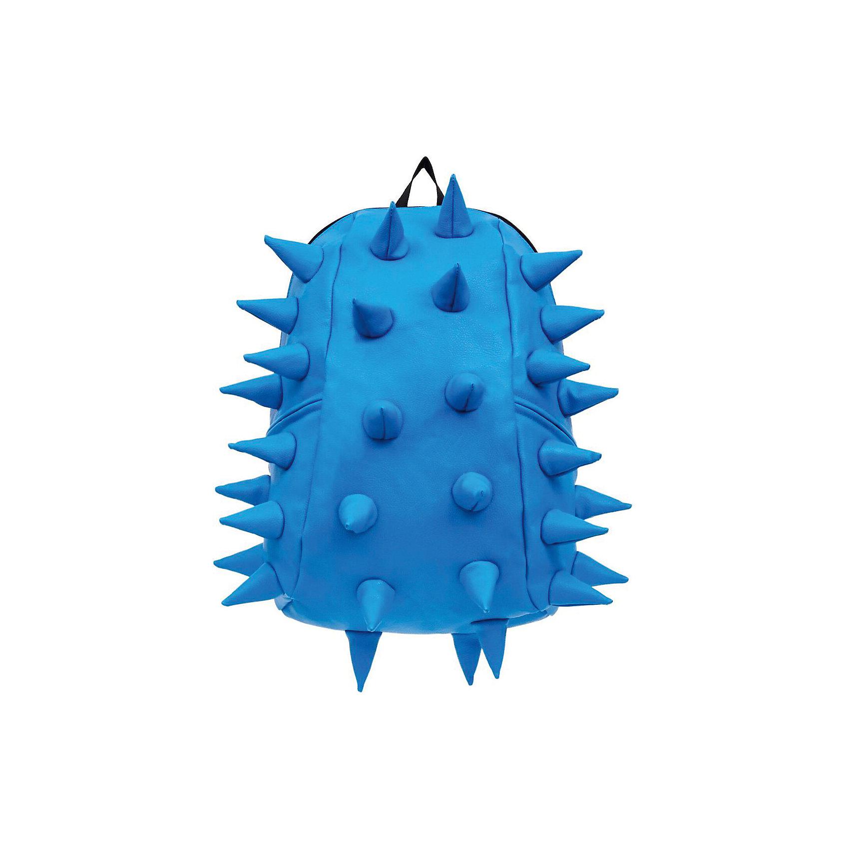Рюкзак Rex 2 Full, цвет голубойРюкзаки<br>Характеристики товара:<br><br>• цвет: голубой;<br>• возраст: от 5 лет;<br>• вес: 0,8 кг;<br>• размер: 46х35х20 см;<br>• особенности модели: с пузырями;<br>• основное отделение на молнии;<br>• внутренний кармашек на молнии;<br>• мягкие регулируемые по высоте лямки;<br>• спинка имеет ортопедическую форму;<br>• два дополнительных боковых кармана на молнии;<br>• материал: полиуретан;<br>• страна бренда: США;<br>• страна изготовитель: Китай.<br><br>Удобный и стильный рюкзак Madpax Rex 2 Full непременно понравится школьникам. Малый вес рюкзака позволяет ребенку носить с собой все необходимое для учебы, при этом не перегружая позвоночник. <br><br>Мягкие ремни регулируются в зависимости от роста ребенка, несколько отделений, проветриваемая спинка и дополнительные карманы делают рюкзак максимально комфортным. <br><br>Рюкзак «Rex 2 Full» можно купить в нашем интернет-магазине.<br><br>Ширина мм: 460<br>Глубина мм: 350<br>Высота мм: 200<br>Вес г: 800<br>Возраст от месяцев: 60<br>Возраст до месяцев: 720<br>Пол: Унисекс<br>Возраст: Детский<br>SKU: 7054063