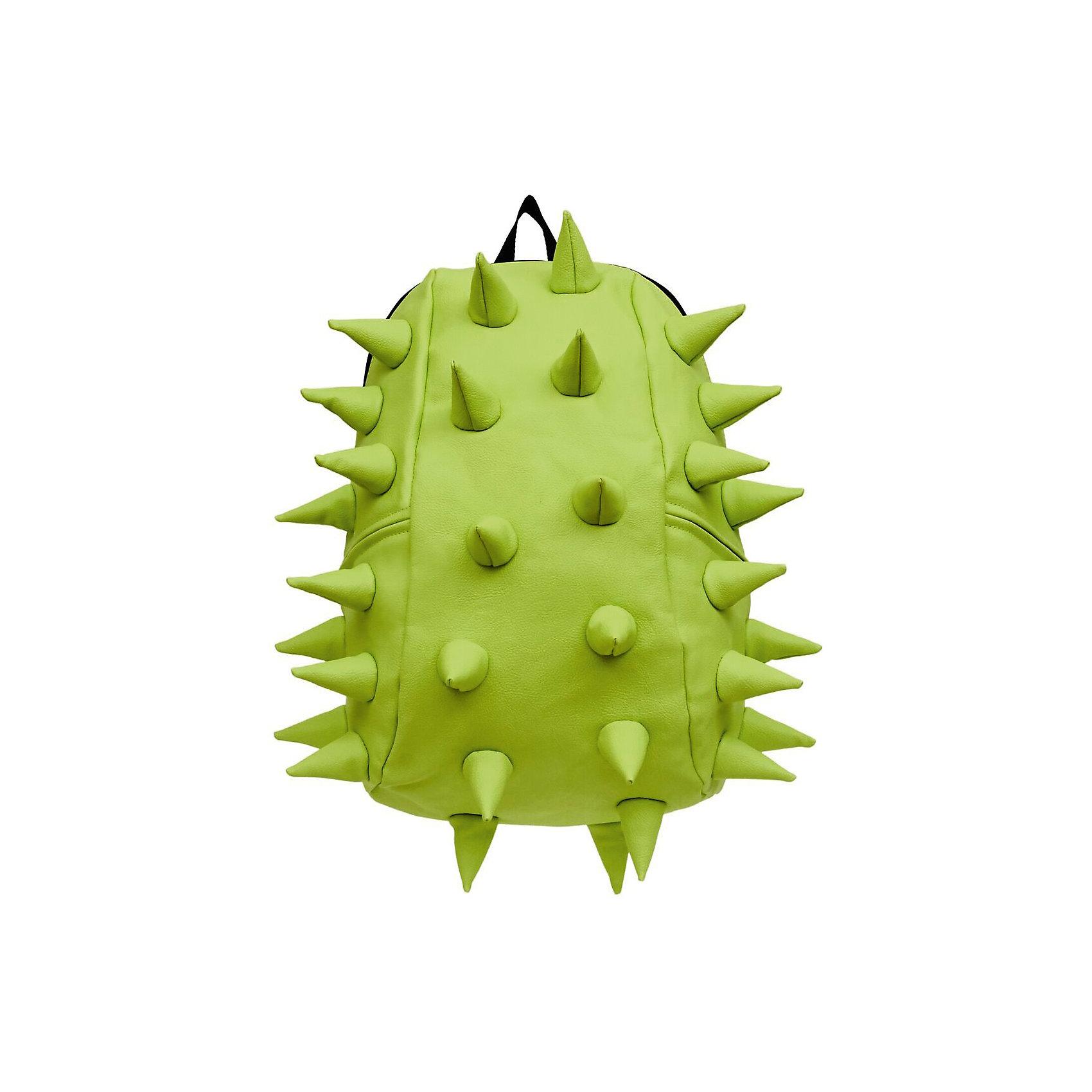 Рюкзак Rex 2 Full, цвет лаймРюкзаки<br>Характеристики товара:<br><br>• цвет: лайм / зененый;<br>• возраст: от 5 лет;<br>• вес: 0,8 кг;<br>• размер: 46х35х20 см;<br>• особенности модели: с пузырями;<br>• основное отделение на молнии;<br>• внутренний кармашек на молнии;<br>• мягкие регулируемые по высоте лямки;<br>• спинка имеет ортопедическую форму;<br>• два дополнительных боковых кармана на молнии;<br>• материал: полиуретан;<br>• страна бренда: США;<br>• страна изготовитель: Китай.<br><br>Удобный и стильный рюкзак Madpax Rex 2 Full непременно понравится школьникам. Малый вес рюкзака позволяет ребенку носить с собой все необходимое для учебы, при этом не перегружая позвоночник. <br><br>Мягкие ремни регулируются в зависимости от роста ребенка, несколько отделений, проветриваемая спинка и дополнительные карманы делают рюкзак максимально комфортным. <br><br>Рюкзак «Rex 2 Full» можно купить в нашем интернет-магазине.<br><br>Ширина мм: 460<br>Глубина мм: 350<br>Высота мм: 200<br>Вес г: 800<br>Возраст от месяцев: 60<br>Возраст до месяцев: 720<br>Пол: Унисекс<br>Возраст: Детский<br>SKU: 7054064