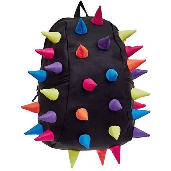 Рюкзак Rex 2 Full Mascarade, цвет черный мультиРюкзаки<br>Характеристики товара:<br><br>• цвет: черный мульти;<br>• возраст: от 5 лет;<br>• вес: 0,8 кг;<br>• размер: 46х35х20 см;<br>• особенности модели: с пузырями;<br>• основное отделение на молнии;<br>• внутренний кармашек на молнии;<br>• мягкие регулируемые по высоте лямки;<br>• спинка имеет ортопедическую форму;<br>• два дополнительных боковых кармана на молнии;<br>• материал: полиуретан;<br>• страна бренда: США;<br>• страна изготовитель: Китай.<br><br>Удобный и стильный рюкзак Madpax Rex 2 Full непременно понравится школьникам. Малый вес рюкзака позволяет ребенку носить с собой все необходимое для учебы, при этом не перегружая позвоночник. <br><br>Мягкие ремни регулируются в зависимости от роста ребенка, несколько отделений, проветриваемая спинка и дополнительные карманы делают рюкзак максимально комфортным. <br><br>Рюкзак «Rex 2 Full Mascarade» можно купить в нашем интернет-магазине.<br><br>Ширина мм: 460<br>Глубина мм: 350<br>Высота мм: 200<br>Вес г: 800<br>Возраст от месяцев: 60<br>Возраст до месяцев: 720<br>Пол: Унисекс<br>Возраст: Детский<br>SKU: 7054071