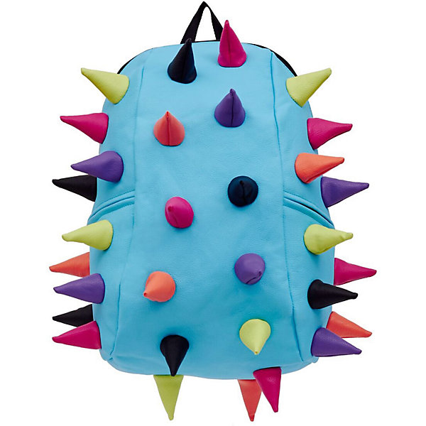Рюкзак Rex 2 Full Whirpool, цвет голубой мультиРюкзаки<br>Характеристики товара:<br><br>• цвет: голубой мульти;<br>• возраст: от 5 лет;<br>• вес: 0,8 кг;<br>• размер: 46х35х20 см;<br>• особенности модели: с пузырями;<br>• основное отделение на молнии;<br>• внутренний кармашек на молнии;<br>• мягкие регулируемые по высоте лямки;<br>• спинка имеет ортопедическую форму;<br>• два дополнительных боковых кармана на молнии;<br>• материал: полиуретан;<br>• страна бренда: США;<br>• страна изготовитель: Китай.<br><br>Удобный и стильный рюкзак Madpax Rex 2 Full непременно понравится школьникам. Малый вес рюкзака позволяет ребенку носить с собой все необходимое для учебы, при этом не перегружая позвоночник. <br><br>Мягкие ремни регулируются в зависимости от роста ребенка, несколько отделений, проветриваемая спинка и дополнительные карманы делают рюкзак максимально комфортным. <br><br>Рюкзак «Rex 2 Full Whirpool» можно купить в нашем интернет-магазине.<br><br>Ширина мм: 460<br>Глубина мм: 350<br>Высота мм: 200<br>Вес г: 800<br>Возраст от месяцев: 60<br>Возраст до месяцев: 720<br>Пол: Унисекс<br>Возраст: Детский<br>SKU: 7054072