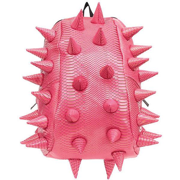 Рюкзак Gator Full, LUXE Pink, цвет розовый с золотомРюкзаки<br>Характеристики товара:<br><br>• цвет: розовый с золотом;<br>• возраст: от 5 лет;<br>• вес: 0,8 кг;<br>• размер: 46х35х20 см;<br>• особенности модели: с пузырями;<br>• большое отделение на молнии;<br>• дополнительный карман на задней стенке рюкзака;<br>• мягкие регулируемые лямки;<br>• ортопедическая спинка с вентиляцией;<br>• два дополнительных боковых кармана на молнии;<br>• материал: поливинил;<br>• страна бренда: США;<br>• страна изготовитель: Китай.<br><br>Удобный рюкзак для детей Madpax «Gator Full» непременно понравится школьнику. Малый вес рюкзака позволяет ребенку носить с собой все необходимое для учебы, при этом не перегружая позвоночник. Стильный шипованный дизайн с имитацией кожи рептилий выделяют рюкзак Мэдпакс Гатор Фулл среди аналогичных моделей. <br><br>Удобное расположение дополнительных кармашков позволяет ребенку с легкостью доставать необходимые ему вещи. Специальная спинка рюкзака Гатор Фулл обеспечивает постоянную вентиляцию спины. Мягкие ремни регулируются в зависимости от роста ребенка. <br><br>Рюкзак «Gator Full» Luxe можно купить в нашем интернет-магазине.<br><br>Ширина мм: 460<br>Глубина мм: 350<br>Высота мм: 200<br>Вес г: 800<br>Возраст от месяцев: 60<br>Возраст до месяцев: 720<br>Пол: Унисекс<br>Возраст: Детский<br>SKU: 7054083