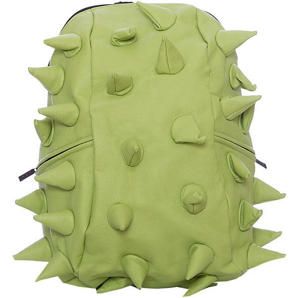 Рюкзак Rex Full, цвет Dinosour Lime (лайм)Рюкзаки<br>Характеристики товара:<br><br>• цвет: Dinosour Lime (лайм);<br>• возраст: от 5 лет;<br>• вес: 0,8 кг;<br>• размер: 46х35х20 см;<br>• особенности модели: с пузырями;<br>• основное отделение на молнии;<br>• дополнительный карман на задней стенке рюкзака;<br>• мягкие регулируемые по высоте лямки;<br>• спинка имеет ортопедическую форму;<br>• два дополнительных боковых кармана на молнии;<br>• материал: полиуретан;<br>• страна бренда: США;<br>• страна изготовитель: Китай.<br><br>Удобный рюкзак для детей Madpax «Rex Full» непременно понравится детям. Малый вес рюкзака позволяет ребенку носить с собой все необходимое для учебы, при этом не перегружая позвоночник. <br><br>Удобное расположение дополнительных кармашков позволяет ребенку с легкостью доставать необходимые ему вещи. Специальная спинка рюкзака Рекс Фулл обеспечивает постоянную вентиляцию спины. Мягкие ремни регулируются в зависимости от роста ребенка. Рюкзак «Rex Full» – это стильная и удобная модель, которая предназначена для ежедневного ношения. <br><br>Рюкзак Madpax «Rex Full» можно купить в нашем интернет-магазине.<br><br>Ширина мм: 460<br>Глубина мм: 350<br>Высота мм: 200<br>Вес г: 800<br>Возраст от месяцев: 60<br>Возраст до месяцев: 720<br>Пол: Унисекс<br>Возраст: Детский<br>SKU: 7054089