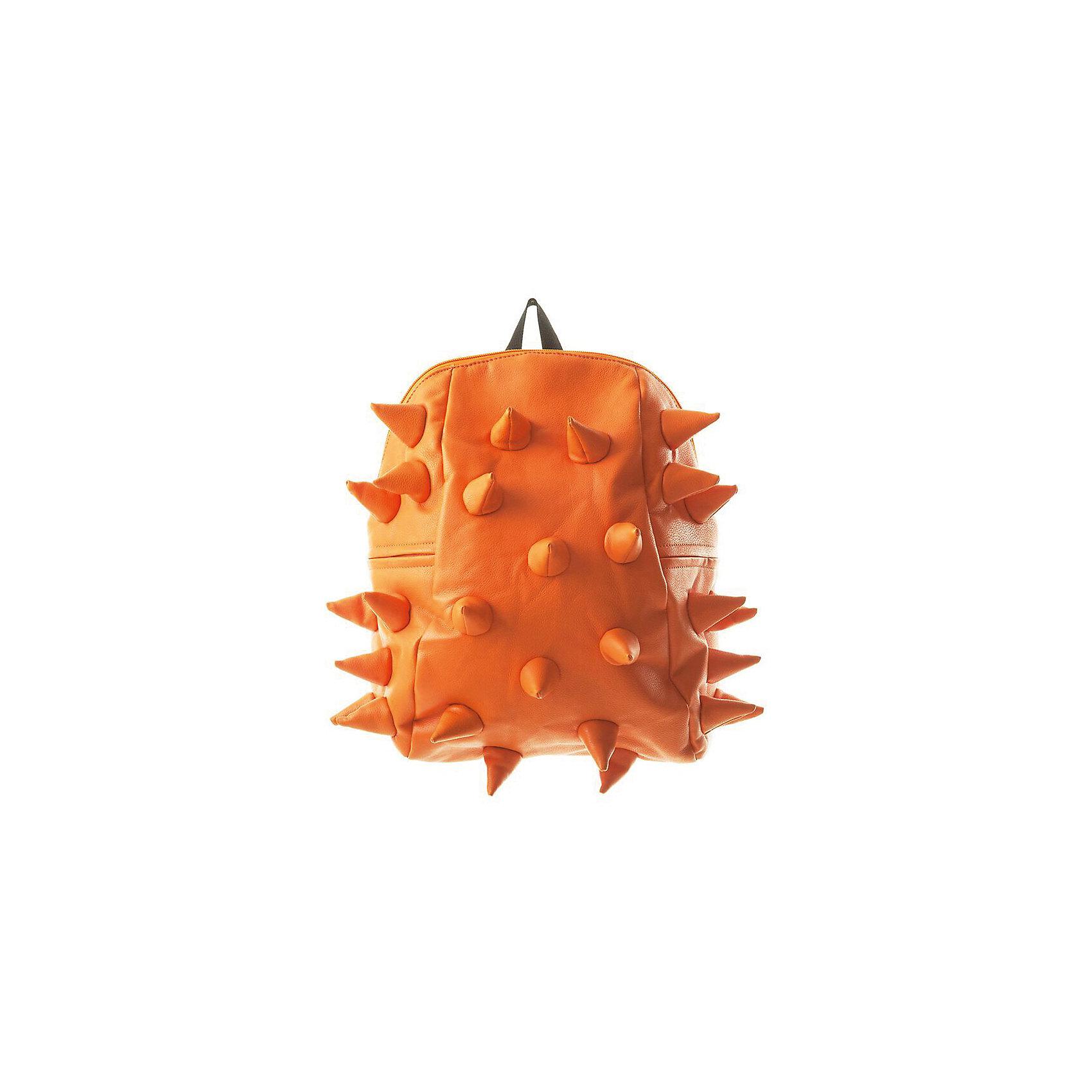 Рюкзак Rex Half, цвет Orange Peel (оранжевый)Рюкзаки<br>Вес: 0,6 кг<br>Размер: 36х30х15 см<br>Состав: рюкзак<br>Наличие светоотражающих элементов: нет<br>Материал: полиуретан<br><br>Ширина мм: 360<br>Глубина мм: 300<br>Высота мм: 150<br>Вес г: 600<br>Возраст от месяцев: 36<br>Возраст до месяцев: 720<br>Пол: Унисекс<br>Возраст: Детский<br>SKU: 7054092