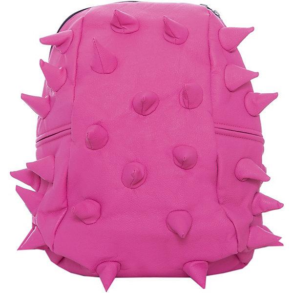 Рюкзак Rex Half, цвет Pink-A-Dot (розовый)Рюкзаки<br>Характеристики товара:<br><br>• цвет: Pink-A-Dot (розовый);<br>• возраст: от 3 лет;<br>• вес: 0,6 кг;<br>• размер: 36х30х15 см;<br>• особенности модели: с пузырями;<br>• основное отделение на молнии;<br>• в основное отделение с легкостью входит ноутбук размером диагонали 13 дюймов, iPad и формат А4;<br>• мягкие регулируемые по высоте лямки;<br>• ортопедическую спинка;<br>• два дополнительных боковых кармана на молнии;<br>• материал: полиуретан;<br>• страна бренда: США;<br>• страна изготовитель: Китай.<br><br>Удобный рюкзак для детей Madpax «Rex Half» непременно понравится детям, которые уже ходят в школу. Малый вес рюкзака позволяет ребенку носить с собой все необходимое для учебы, при этом не перегружая позвоночник. <br><br>Удобное расположение дополнительных кармашков позволяет ребенку с легкостью доставать необходимые ему вещи. Специальная спинка рюкзака Рекс Халф обеспечивает постоянную вентиляцию спины малыша. Мягкие ремни регулируются в зависимости от роста ребенка. Рюкзак «Rex Half» – это стильная и удобная модель, которая предназначена для ежедневного ношения.<br><br>Рюкзак Madpax «Rex Half» можно купить в нашем интернет-магазине.<br><br>Ширина мм: 360<br>Глубина мм: 300<br>Высота мм: 150<br>Вес г: 600<br>Возраст от месяцев: 36<br>Возраст до месяцев: 720<br>Пол: Унисекс<br>Возраст: Детский<br>SKU: 7054094