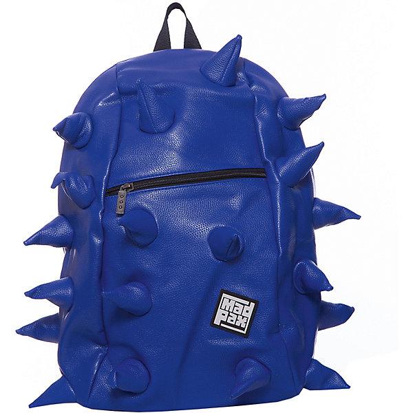 Рюкзак Rex VE  Full Front Zipper Navy, цвет синийРюкзаки<br>Характеристики товара:<br><br>• цвет: Front Zipper Navy (синий);<br>• возраст: от 5 лет;<br>• вес: 0,8 кг;<br>• размер: 46х36х20 см;<br>• особенности модели: с пузырями;<br>• одно основное отделение на молнии;<br>• мягкие воздухопроницаемые широкие лямки;<br>• ортопедическая спинка с мягкой обивкой;<br>• фронтальный карман на молнии;<br>• материал: полиуретан;<br>• страна бренда: США;<br>• страна изготовитель: Китай.<br><br>Стильный и практичный рюкзак уместный в ритме большого города. <br><br>Закрывается на молнию. Модель помимо лямки для переноски в руке, имеет мягкие и широкие регулируемые лямки. Стильное дополнение этой новинки является асимметричный карман на молнии спереди, что придает изделию дерзость и эффектность. Полностью вентилируемая и ортопедическая спинка создаёт дополнительный комфорт Вашей спине.<br><br>Рюкзак Madpax «Rex VE  Full» можно купить в нашем интернет-магазине.<br>Ширина мм: 460; Глубина мм: 360; Высота мм: 200; Вес г: 800; Возраст от месяцев: 60; Возраст до месяцев: 720; Пол: Унисекс; Возраст: Детский; SKU: 7054099;