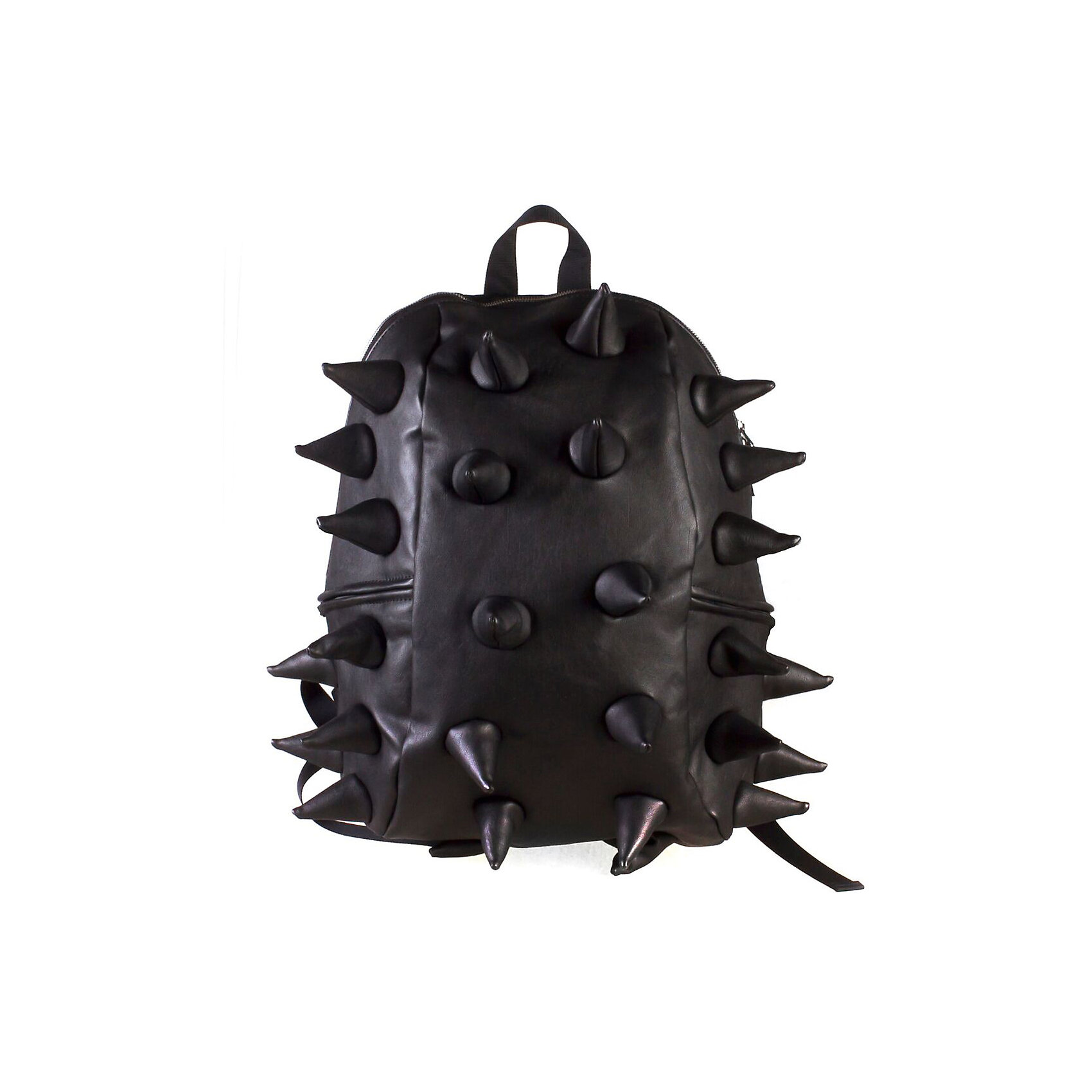 Рюкзак Rex Half Heavy Metal Spike Black, цвет черныйРюкзаки<br>Вес: 0,6 кг<br>Размер: 36х30х15 см<br>Состав: рюкзак<br>Наличие светоотражающих элементов: нет<br>Материал: полиуретан<br><br>Ширина мм: 360<br>Глубина мм: 300<br>Высота мм: 150<br>Вес г: 600<br>Возраст от месяцев: 36<br>Возраст до месяцев: 720<br>Пол: Унисекс<br>Возраст: Детский<br>SKU: 7054103