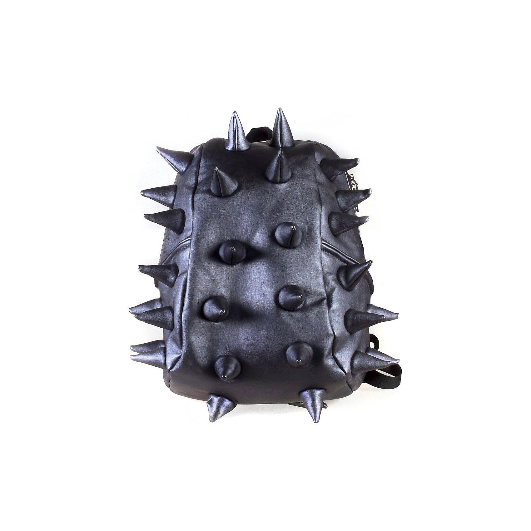 Рюкзак Rex Half Heavy Metal Spike Blue, цвет синийРюкзаки<br>Вес: 0,6 кг<br>Размер: 36х30х15 см<br>Состав: рюкзак<br>Наличие светоотражающих элементов: нет<br>Материал: полиуретан<br><br>Ширина мм: 360<br>Глубина мм: 300<br>Высота мм: 150<br>Вес г: 600<br>Возраст от месяцев: 36<br>Возраст до месяцев: 720<br>Пол: Унисекс<br>Возраст: Детский<br>SKU: 7054106