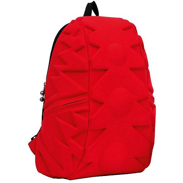 Рюкзак Exo Full, цвет Red (красный)Рюкзаки<br>Характеристики товара:<br><br>• цвет: красный;<br>• возраст: от 5 лет;<br>• вес: 0,8 кг;<br>• размер: 46х36х20 см;<br>• одно отделение на молнии;<br>• вместительный (данная модель свободно вместит ноутбук с диагональю 17 дюймов или планшет).<br>• лямки регулируются по высоте;<br>• ортопедическая спинка;<br>• два кармана на молниях;<br>• материал: полиспандекс;<br>• страна бренда: США;<br>• страна изготовитель: Китай.<br><br>Madpax, Рюкзак «Exo Full» удивил новыми формами рисунка! Внутри много места для книг, ноутбука, папок формата А4.<br><br>По бокам рюкзака есть два кармана на молниях для мелочей. Лямки имеют мягкую текстуру и регулируются по высоте. Также на лямках есть ремешок-соединитель для удобства ношения. На спинке есть прозрачный карман-вставка для информации о хозяине. В целом, легкий и вместительный рюкзак с одним основным отделением на молнии. Спина не устанет, поскольку спинка имеет ортопедтческое основание. Что делает ношение рюкзака наиболее удобным и комфортным.<br><br>Рюкзак Madpax «Exo Full» можно купить в нашем интернет-магазине.<br><br>Ширина мм: 460<br>Глубина мм: 360<br>Высота мм: 200<br>Вес г: 800<br>Возраст от месяцев: 60<br>Возраст до месяцев: 720<br>Пол: Унисекс<br>Возраст: Детский<br>SKU: 7054107