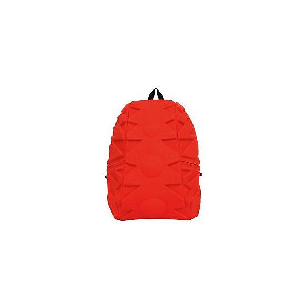 Рюкзак Exo Full, цвет Orange (оранжевый)Рюкзаки<br>Характеристики товара:<br><br>• цвет: оранжевый;<br>• возраст: от 5 лет;<br>• вес: 0,8 кг;<br>• размер: 46х36х20 см;<br>• одно отделение на молнии;<br>• вместительный (данная модель свободно вместит ноутбук с диагональю 17 дюймов или планшет).<br>• лямки регулируются по высоте;<br>• ортопедическая спинка;<br>• два кармана на молниях;<br>• материал: полиспандекс;<br>• страна бренда: США;<br>• страна изготовитель: Китай.<br><br>Madpax, Рюкзак «Exo Full» удивил новыми формами рисунка! Внутри много места для книг, ноутбука, папок формата А4.<br><br>По бокам рюкзака есть два кармана на молниях для мелочей. Лямки имеют мягкую текстуру и регулируются по высоте. Также на лямках есть ремешок-соединитель для удобства ношения. На спинке есть прозрачный карман-вставка для информации о хозяине. В целом, легкий и вместительный рюкзак с одним основным отделением на молнии. Спина не устанет, поскольку спинка имеет ортопедтческое основание. Что делает ношение рюкзака наиболее удобным и комфортным.<br><br>Рюкзак Madpax «Exo Full» можно купить в нашем интернет-магазине.<br><br>Ширина мм: 460<br>Глубина мм: 360<br>Высота мм: 200<br>Вес г: 800<br>Возраст от месяцев: 60<br>Возраст до месяцев: 720<br>Пол: Унисекс<br>Возраст: Детский<br>SKU: 7054109