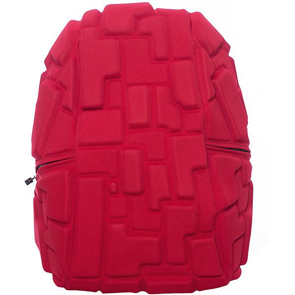 Рюкзак Blok Full, цвет 4-Alarm Fire! (красный)Рюкзаки<br>Характеристики товара:<br><br>• цвет: 4-Alarm Fire! (красный);<br>• возраст: от 5 лет;<br>• вес: 0,8 кг;<br>• размер: 46х35х20 см;<br>• одно отделение на молнии;<br>• вместительный;<br>• лямки регулируются по высоте;<br>• ортопедическая спинка;<br>• карман - окошко для контактной информации;<br>• материал: полиспандекс;<br>• страна бренда: США;<br>• страна изготовитель: Китай.<br><br>Рюкзак Madpax не перепутаешь ни с каким другим рюкзаком! Его уникальность в неповторимом дизайне. Рельефное покрытие рюкзака «Blok Full» напоминает футуристические строительные блоки.<br><br>Просторный внутри, он способен вместить практически все вещи владельца. Наличие эргономичных ручек дает возможность без лишних усилий переносить тяжелую сумку за спиной. Лямки оснащены фиксатором в области груди. Ортопедическая спинка с вентилируемым материалом создаст комфорт. Внутри 2 отделения: большое для основных вещей и отделение для ноутбука или планшета с диагональю до 17 дюймов. По бокам - два дополнительных кармана на молнии для мелочей.<br><br>Рюкзак Madpax «Blok Full» можно купить в нашем интернет-магазине.<br>Ширина мм: 460; Глубина мм: 350; Высота мм: 200; Вес г: 800; Возраст от месяцев: 60; Возраст до месяцев: 720; Пол: Унисекс; Возраст: Детский; SKU: 7054118;