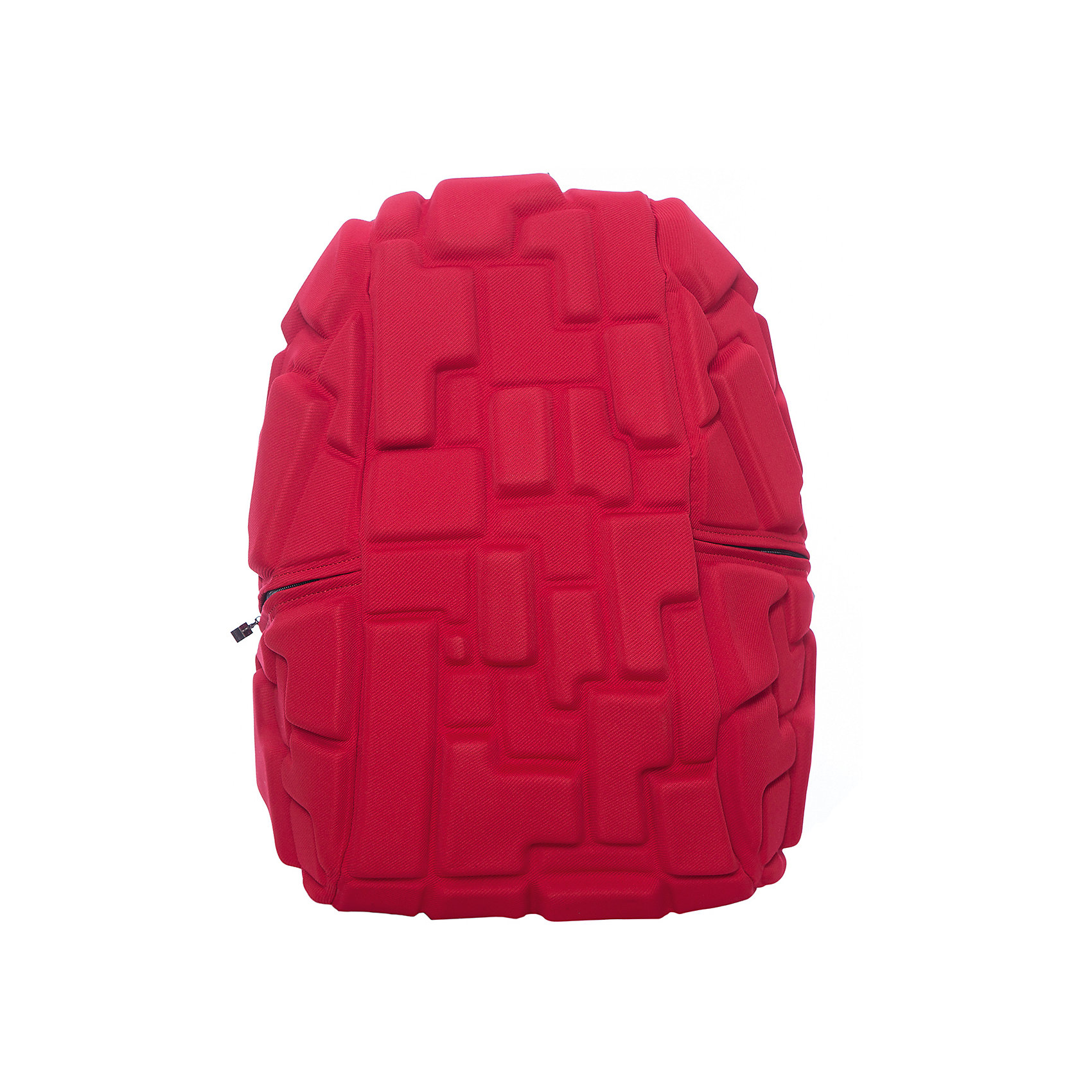 Рюкзак Blok Full, цвет 4-Alarm Fire! (красный)Рюкзаки<br>Характеристики товара:<br><br>• цвет: 4-Alarm Fire! (красный);<br>• возраст: от 5 лет;<br>• вес: 0,8 кг;<br>• размер: 46х35х20 см;<br>• одно отделение на молнии;<br>• вместительный;<br>• лямки регулируются по высоте;<br>• ортопедическая спинка;<br>• карман - окошко для контактной информации;<br>• материал: полиспандекс;<br>• страна бренда: США;<br>• страна изготовитель: Китай.<br><br>Рюкзак Madpax не перепутаешь ни с каким другим рюкзаком! Его уникальность в неповторимом дизайне. Рельефное покрытие рюкзака «Blok Full» напоминает футуристические строительные блоки.<br><br>Просторный внутри, он способен вместить практически все вещи владельца. Наличие эргономичных ручек дает возможность без лишних усилий переносить тяжелую сумку за спиной. Лямки оснащены фиксатором в области груди. Ортопедическая спинка с вентилируемым материалом создаст комфорт. Внутри 2 отделения: большое для основных вещей и отделение для ноутбука или планшета с диагональю до 17 дюймов. По бокам - два дополнительных кармана на молнии для мелочей.<br><br>Рюкзак Madpax «Blok Full» можно купить в нашем интернет-магазине.<br><br>Ширина мм: 460<br>Глубина мм: 350<br>Высота мм: 200<br>Вес г: 800<br>Возраст от месяцев: 60<br>Возраст до месяцев: 720<br>Пол: Унисекс<br>Возраст: Детский<br>SKU: 7054118