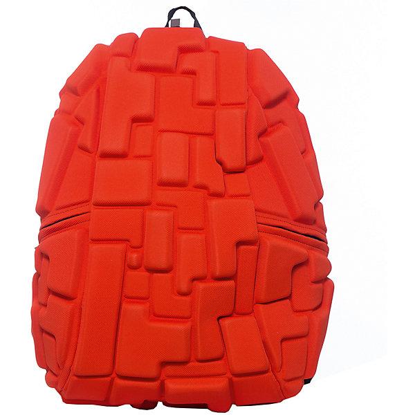 Рюкзак Blok Full, цвет Pass the OJ ( оранжевый)Рюкзаки<br>Характеристики товара:<br><br>• цвет: Pass the OJ (оранжевый);<br>• возраст: от 5 лет;<br>• вес: 0,8 кг;<br>• размер: 46х35х20 см;<br>• одно отделение на молнии;<br>• вместительный;<br>• лямки регулируются по высоте;<br>• ортопедическая спинка;<br>• карман - окошко для контактной информации;<br>• материал: полиспандекс;<br>• страна бренда: США;<br>• страна изготовитель: Китай.<br><br>Рюкзак Madpax не перепутаешь ни с каким другим рюкзаком! Его уникальность в неповторимом дизайне. Рельефное покрытие рюкзака «Blok Full» напоминает футуристические строительные блоки.<br><br>Просторный внутри, он способен вместить практически все вещи владельца. Наличие эргономичных ручек дает возможность без лишних усилий переносить тяжелую сумку за спиной. Лямки оснащены фиксатором в области груди. Ортопедическая спинка с вентилируемым материалом создаст комфорт. Внутри 2 отделения: большое для основных вещей и отделение для ноутбука или планшета с диагональю до 17 дюймов. По бокам - два дополнительных кармана на молнии для мелочей.<br><br>Рюкзак Madpax «Blok Full» можно купить в нашем интернет-магазине.<br>Ширина мм: 460; Глубина мм: 350; Высота мм: 200; Вес г: 800; Возраст от месяцев: 60; Возраст до месяцев: 720; Пол: Унисекс; Возраст: Детский; SKU: 7054119;