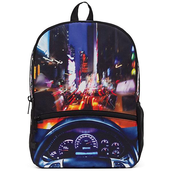 Рюкзак NYC Crusin LED со встроенными светодиодами, цвет мультиРюкзаки<br>Характеристики товара:<br><br>• цвет: мульти;<br>• возраст: от 10 лет;<br>• вес: 0,5 кг;<br>• размер: 43х30х16 см;<br>• выполнен из водоотталкивающей ткани с полиуретановым слоем;<br>• вместительный;<br>• внутри два отделения;<br>• прочная текстильная ручка;<br>• лямки регулируются по высоте;<br>• ремни, спинка и дно рюкзака сделаны из уплотненной ткани;<br>• материал: полиэстер;<br>• страна бренда: США;<br>• страна изготовитель: Китай.<br><br>Стильный и невероятно удобный рюкзак Mojo Pax пригодится и в школе, и на тренировке, а также в поездке. <br><br>Рюкзак с изображением Нью-Йорка украшен встроенными светодиодами (работают от батареек). Лампочки будут светиться и мигать при движении. Как только вы остановитесь, рюкзак успокоится вместе с вами.<br><br>Рюкзак Mojo Pax «NYC Crusin LED» можно купить в нашем интернет-магазине.<br>Ширина мм: 430; Глубина мм: 300; Высота мм: 160; Вес г: 500; Возраст от месяцев: 120; Возраст до месяцев: 720; Пол: Унисекс; Возраст: Детский; SKU: 7054130;