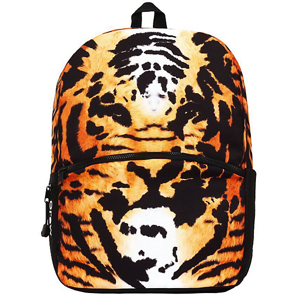 Рюкзак Tiger, цвет мультиРюкзаки<br>Характеристики товара:<br><br>• цвет: рыжий;<br>• возраст: от 10 лет;<br>• вес: 0,5 кг;<br>• размер: 43х30х16 см;<br>• водонепроницаемая ткань;<br>• в УФ принт на рюкзаке светится;<br>• одно отделение на молнии;<br>• отсек для планшета;<br>• фронтальный карман на молнии;<br>• два боковых кармана;<br>• уплотненная спинка;<br>• мягкие регулируемые лямки;<br>• материал: полиэстер;<br>• страна бренда: США;<br>• страна изготовитель: Китай.<br><br>Функциональный и вместительный, рюкзак привлекает внимание оригинальным тигровым принтом. За счет люминесцентной краски тигровый принт светится при попадании на него ультрафиолетовых лучей. <br><br>Рюкзак сшит из прочного и влагостойкого полиэстера 600D. Усиленная анатомическая спинка снижает нагрузку на позвоночник. Внутри расположены отделение для ноутбука с диагональю не более 17 дюймов, органайзер и два отделения для книг и тетрадей. MoJo - это прокачанный рюкзак для учебы, для отдыха и для путешествий.<br><br>Рюкзак Mojo Pax «Tiger» можно купить в нашем интернет-магазине.<br><br>Ширина мм: 430<br>Глубина мм: 300<br>Высота мм: 160<br>Вес г: 500<br>Возраст от месяцев: 120<br>Возраст до месяцев: 720<br>Пол: Унисекс<br>Возраст: Детский<br>SKU: 7054141