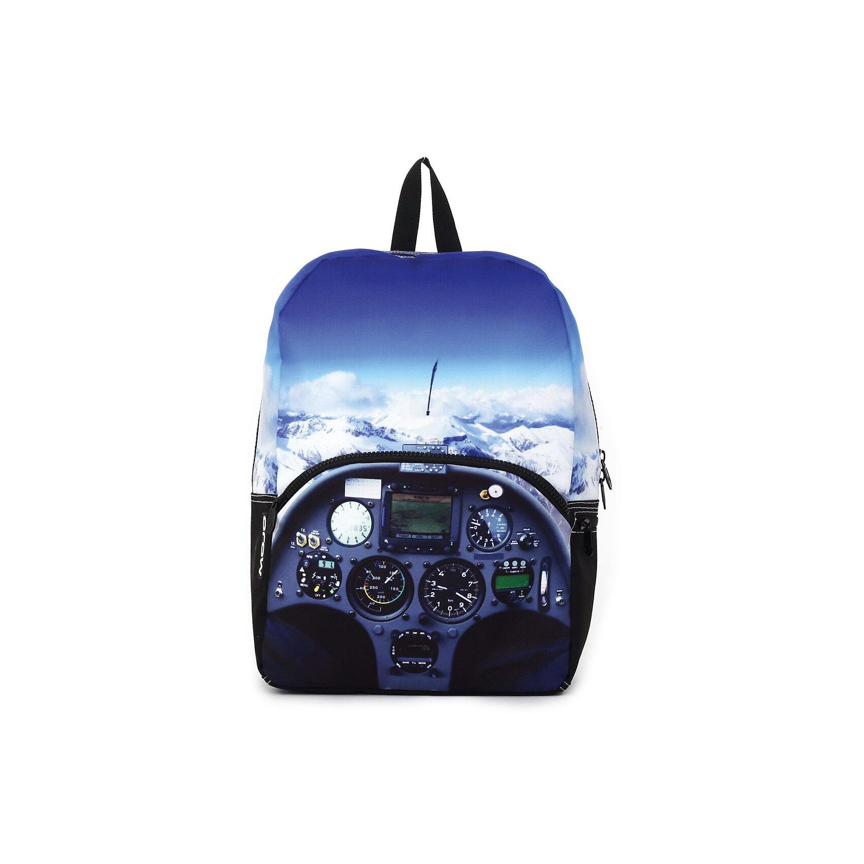 Рюкзак Cockpit, цвет (черный/мульти)Рюкзаки<br>Вес: 0,5 кг<br>Размер: 43х30х16 см<br>Состав: рюкзак<br>Наличие светоотражающих элементов: нет<br>Материал: полиэстер<br><br>Ширина мм: 430<br>Глубина мм: 300<br>Высота мм: 160<br>Вес г: 500<br>Возраст от месяцев: 120<br>Возраст до месяцев: 720<br>Пол: Унисекс<br>Возраст: Детский<br>SKU: 7054145