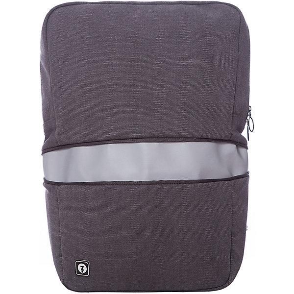 Рюкзак REFLECTO со встроенным светоотражающим отделением, цвет серыйРюкзаки<br>Характеристики товара:<br><br>• цвет: серый;<br>• возраст: от 7 лет;<br>• вес: 0,5 кг;<br>• размер: 30х12х43 см;<br>• во внутреннем отделении помещается ноутбук с диагональю экрана до 14;<br>• рюкзак имеет семь разных отделений;<br>• задний карман спрятан под молнией;<br>• светоотражающая полоска обеспечивает безопасность в темное время суток;<br>• лямки регулируются по длине;<br>• рюкзак стирается в стиральной машине в режиме деликатной стирки;<br>• материал: полиэстер;<br>• страна бренда: США;<br>• страна изготовитель: Китай.<br><br>Рюкзак «REFLECTO» от бренда ZIPIT придуман специально для тех, кто много ходит пешком и ездит на велосипеде. <br><br>Помимо удобной конструкции, ортопедических лямок и вместительных отделений, рюкзак имеет светоотражающую вставку. В вечернее время его можно расстегнуть, открыв широкую светоотражающую полосу в центральной части рюкзака. Удобно, стильно, заметно, безопасно!<br><br>Рюкзак «Reflecto» можно купить в нашем интернет-магазине.<br><br>Ширина мм: 300<br>Глубина мм: 120<br>Высота мм: 430<br>Вес г: 500<br>Возраст от месяцев: 84<br>Возраст до месяцев: 720<br>Пол: Унисекс<br>Возраст: Детский<br>SKU: 7054148