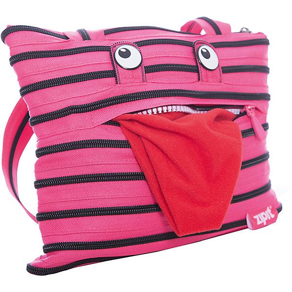 Сумка Monster Tote/Beach Bag, цвет розовый/черныйДетские сумки<br>Характеристики товара:<br><br>• цвет: розовый/черный;<br>• возраст: от 7 лет;<br>• вес: 0,2 кг;<br>• размер: 27х3х24 см;<br>• сумочка имеет одно вместительное отделение;<br>• изготовлена из застежки-молнии;<br>• молнию можно полностью расстегнуть;<br>• карман на молнии с забавным монстром;<br>• удлиненные ручки для переноски в руке или на плече;<br>• материал: полиэстер;<br>• страна бренда: США;<br>• страна изготовитель: Китай.<br><br>Молодежная сумка Zipit «Monster Tote Beach Bag» очень необычная. Она сделана из молнии! Молния закручена по спирали и это делает сумку совершенно уникальной. При этом сумка очень функциональная и легка в уходе.<br><br>Сумку «Monster Tote Beach Bag» можно купить в нашем интернет-магазине.<br>Ширина мм: 270; Глубина мм: 30; Высота мм: 240; Вес г: 200; Возраст от месяцев: 84; Возраст до месяцев: 180; Пол: Унисекс; Возраст: Детский; SKU: 7054149;