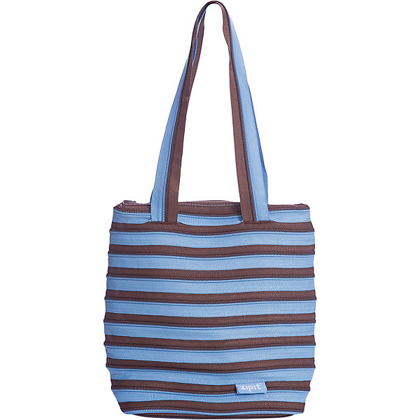 Сумка Premium Tote/Beach Bag, цвет голубой/коричневыйДетские сумки<br>Характеристики товара:<br><br>• цвет: голубой/коричневый;<br>• возраст: от 7 лет;<br>• вес: 0,2 кг;<br>• размер: 28х10х28 см;<br>• сумочка имеет одно вместительное отделение;<br>• изготовлена из застежки-молнии;<br>• молнию можно полностью расстегнуть;<br>• удлиненные ручки для переноски в руке или на плече;<br>• материал: полиэстер;<br>• страна бренда: США;<br>• страна изготовитель: Китай.<br><br>Молодежная сумка Zipit «Premium Tote Beach Bag» очень необычная. Она сделана из молнии! Молния закручена по спирали и это делает сумку совершенно уникальной. При этом сумка очень функциональная и легка в уходе.<br><br>Сумку «Premium Tote Beach Bag» можно купить в нашем интернет-магазине.<br>Ширина мм: 280; Глубина мм: 100; Высота мм: 280; Вес г: 200; Возраст от месяцев: 84; Возраст до месяцев: 180; Пол: Унисекс; Возраст: Детский; SKU: 7054151;