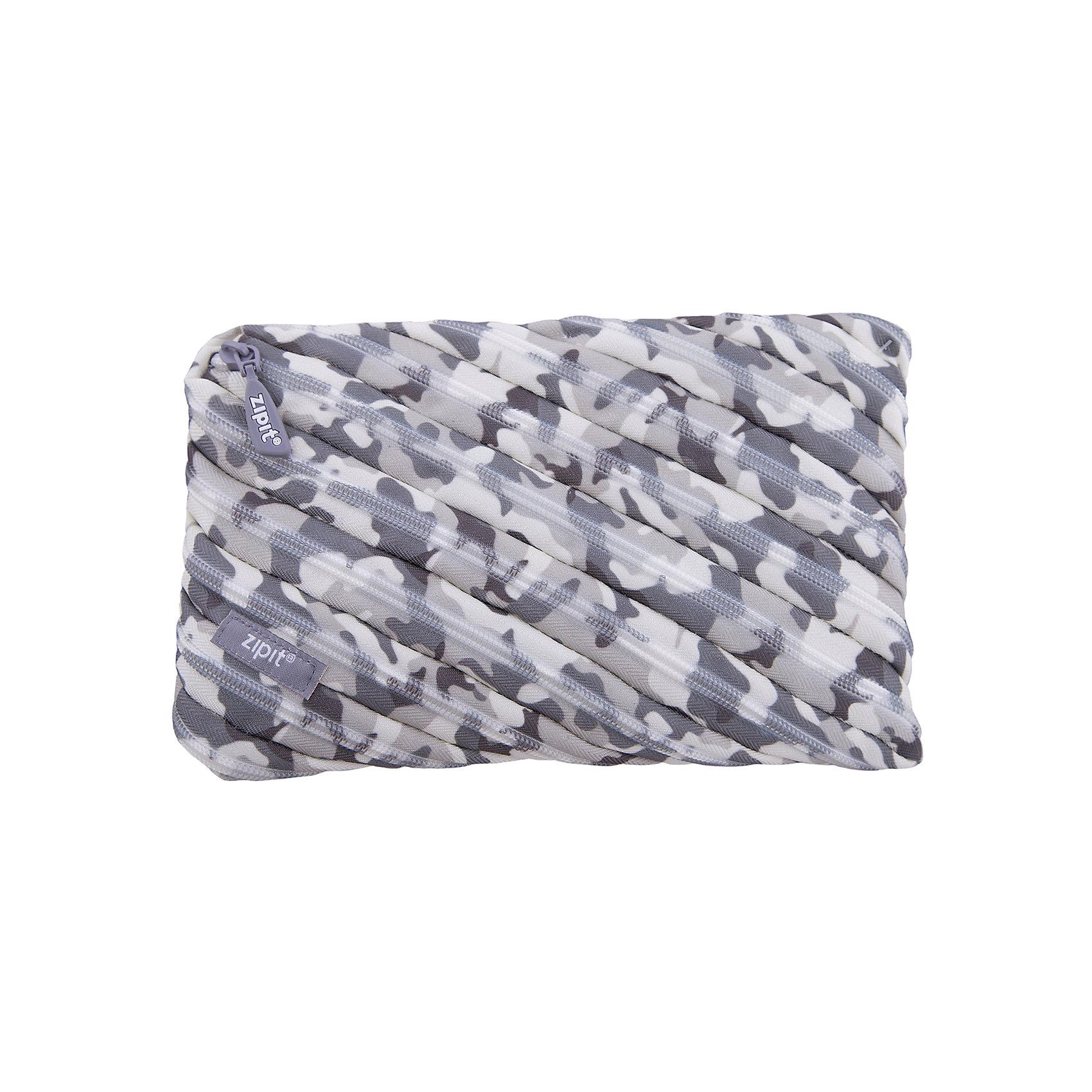 Пенал-сумочка CAMO JUMBO POUCH, цвет серый камуфляжПеналы без наполнения<br>Вес: 0,1 кг<br>Размер: 23х2х15 см<br>Состав: пенал-сумочка<br>Наличие светоотражающих элементов: нет<br>Материал: полиэстер<br><br>Ширина мм: 230<br>Глубина мм: 20<br>Высота мм: 150<br>Вес г: 100<br>Возраст от месяцев: 36<br>Возраст до месяцев: 720<br>Пол: Унисекс<br>Возраст: Детский<br>SKU: 7054166