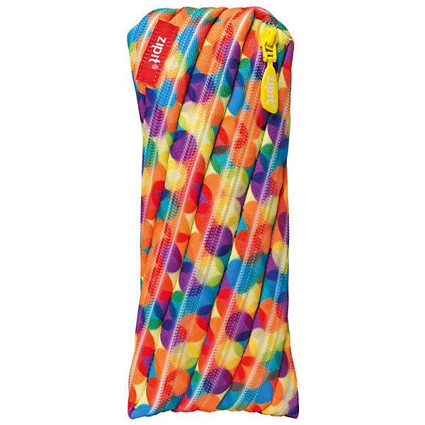 Пенал-сумочка COLORS POUCH, цвет мульти шарикиПеналы без наполнения<br>Характеристики товара:<br><br>• цвет: мульти шарики;<br>• возраст: от 3 лет;<br>• вес: 0,1 кг;<br>• размер: 22х2х10 см;<br>• одно отделение на молнии;<br>• изготовлен из длинной молнии;<br>• молнию можно полностью расстегнуть;<br>• необычный дизайн; <br>• материал: полиэстер;<br>• страна бренда: США;<br>• страна изготовитель: Китай.<br><br>Zipit пенал-сумочка «Colors Pouch» - удобен для разных мелочей и для пишущих принадлежностей. Изготовлен из 1 длинной молнии. <br><br>Пенал-сумочка «Colors Pouch» можно купить в нашем интернет-магазине.<br><br>Ширина мм: 220<br>Глубина мм: 20<br>Высота мм: 100<br>Вес г: 100<br>Возраст от месяцев: 36<br>Возраст до месяцев: 720<br>Пол: Унисекс<br>Возраст: Детский<br>SKU: 7054168