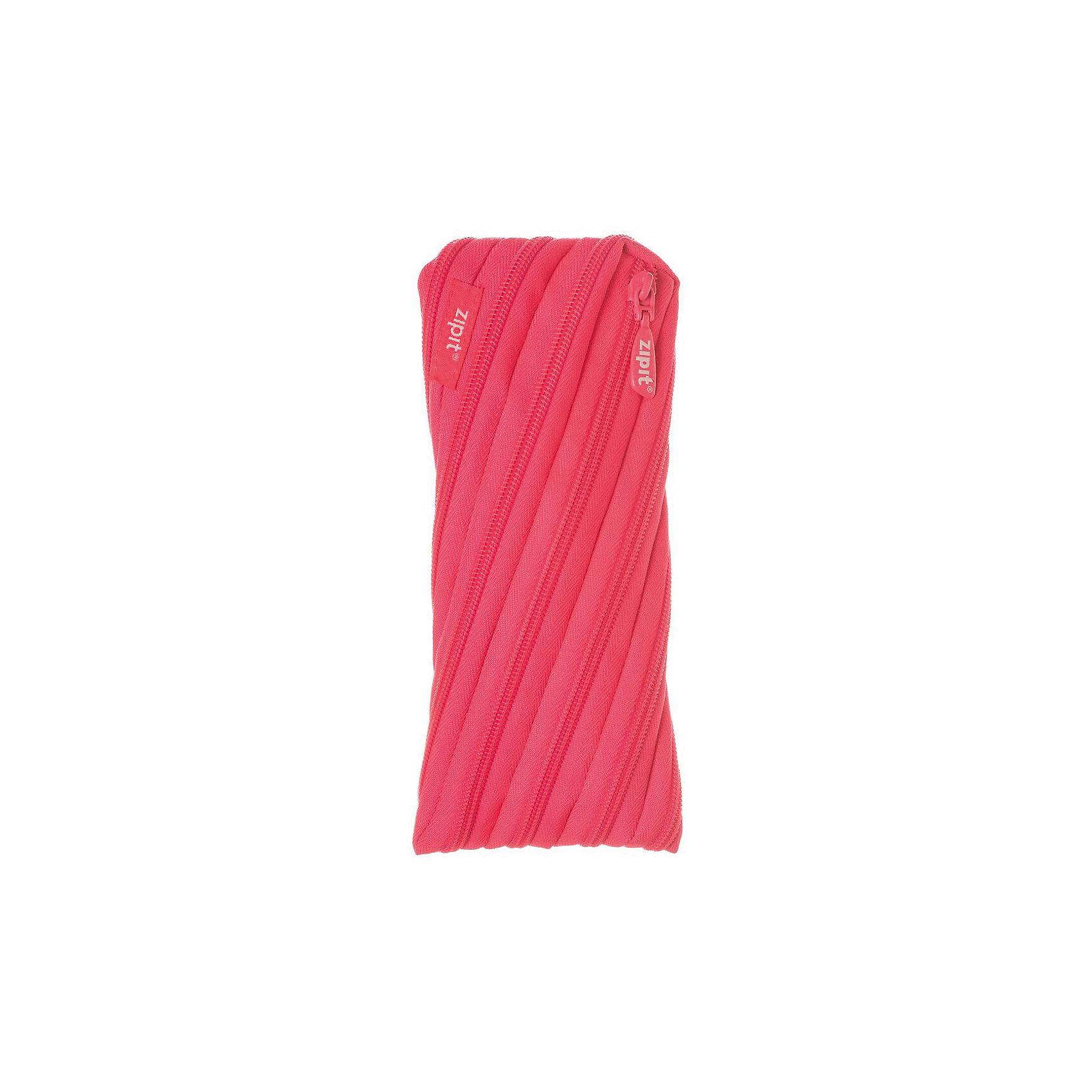 Пенал-сумочка NEON POUCH, цвет розовыйПеналы без наполнения<br>Характеристики товара:<br><br>• цвет: розовый;<br>• возраст: от 3 лет;<br>• вес: 0,1 кг;<br>• размер: 22х2х10 см;<br>• одно отделение на молнии;<br>• изготовлен из длинной молнии;<br>• молнию можно полностью расстегнуть;<br>• необычный дизайн; <br>• материал: полиэстер;<br>• страна бренда: США;<br>• страна изготовитель: Китай.<br><br>Zipit пенал-сумочка «Neon Pouch» - удобен для разных мелочей и для пишущих принадлежностей. Изготовлен из 1 длинной молнии. <br><br>Пенал-сумочка «Neon Pouch» можно купить в нашем интернет-магазине.<br><br>Ширина мм: 220<br>Глубина мм: 20<br>Высота мм: 100<br>Вес г: 100<br>Возраст от месяцев: 36<br>Возраст до месяцев: 720<br>Пол: Унисекс<br>Возраст: Детский<br>SKU: 7054169