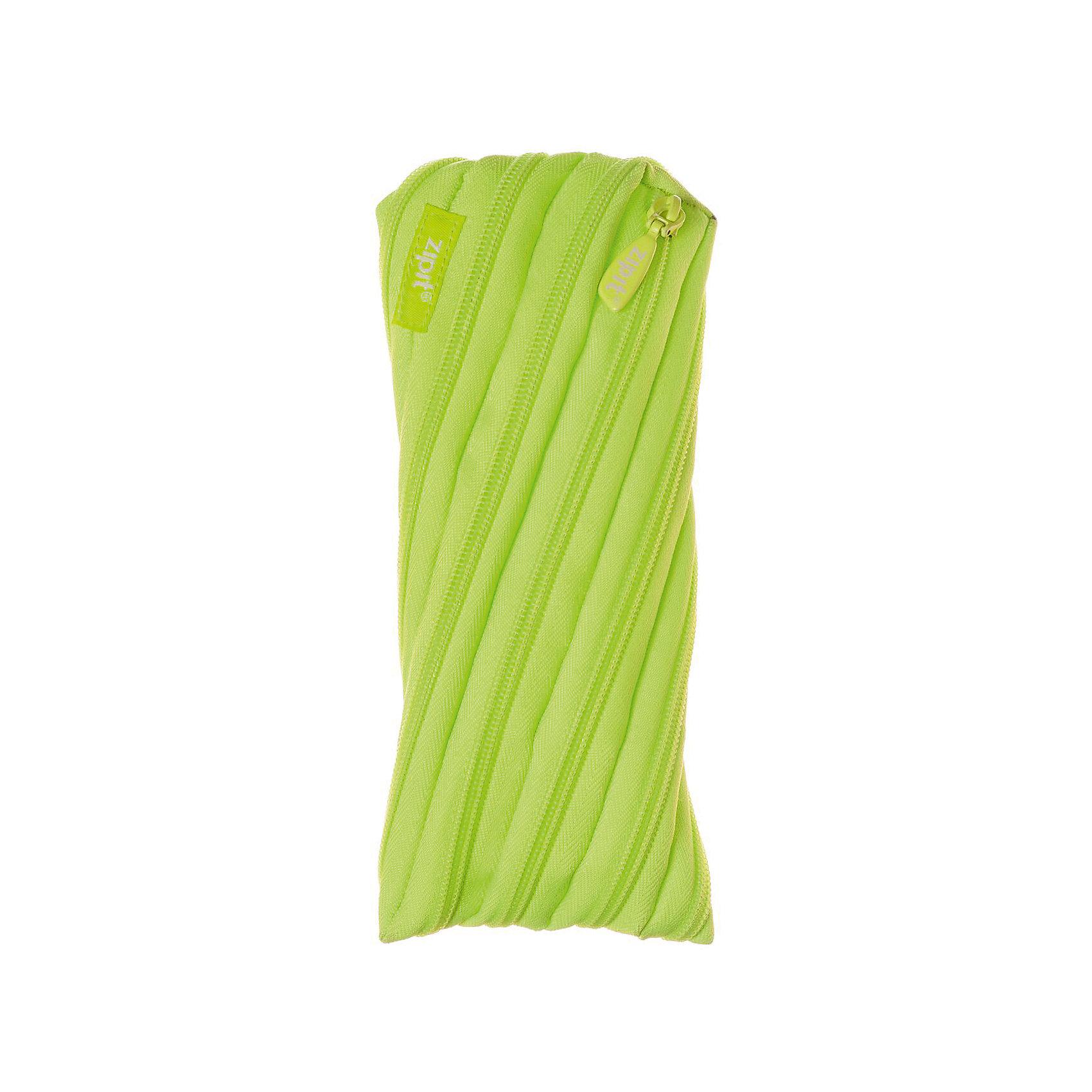 Пенал-сумочка NEON POUCH, цвет лаймПеналы без наполнения<br>Характеристики товара:<br><br>• цвет: лайм;<br>• возраст: от 3 лет;<br>• вес: 0,1 кг;<br>• размер: 22х2х10 см;<br>• одно отделение на молнии;<br>• изготовлен из длинной молнии;<br>• молнию можно полностью расстегнуть;<br>• необычный дизайн; <br>• материал: полиэстер;<br>• страна бренда: США;<br>• страна изготовитель: Китай.<br><br>Zipit пенал-сумочка «Neon Pouch» - удобен для разных мелочей и для пишущих принадлежностей. Изготовлен из 1 длинной молнии. <br><br>Пенал-сумочка «Neon Pouch» можно купить в нашем интернет-магазине.<br><br>Ширина мм: 220<br>Глубина мм: 20<br>Высота мм: 100<br>Вес г: 100<br>Возраст от месяцев: 36<br>Возраст до месяцев: 720<br>Пол: Унисекс<br>Возраст: Детский<br>SKU: 7054171