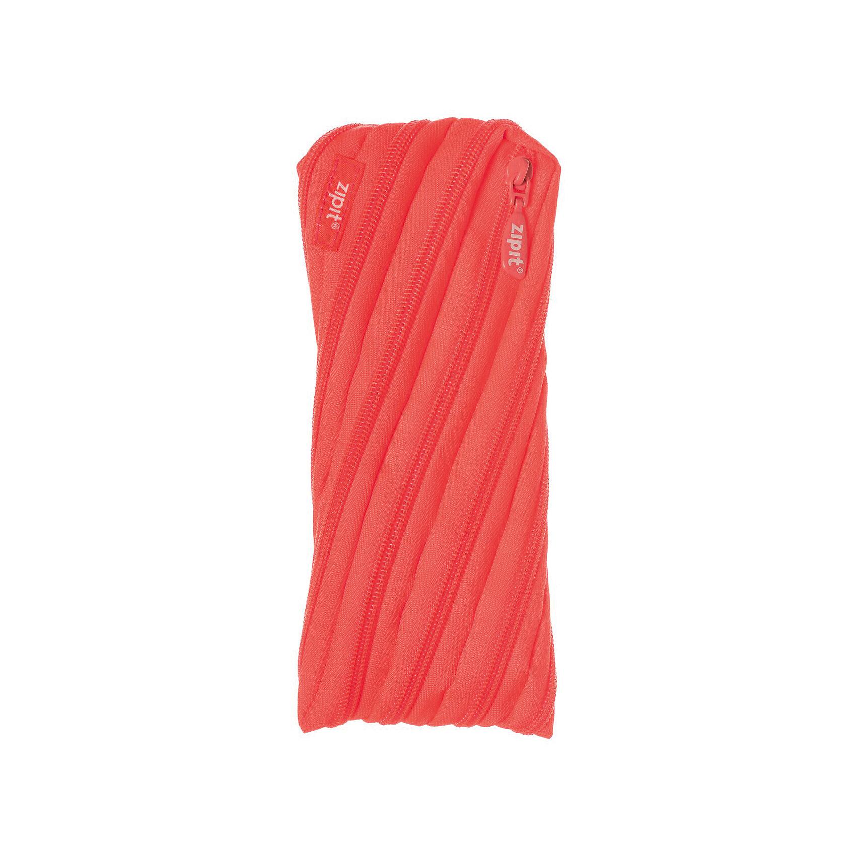 Пенал-сумочка NEON POUCH, цвет персиковыйПеналы без наполнения<br>Характеристики товара:<br><br>• цвет: персиковый;<br>• возраст: от 3 лет;<br>• вес: 0,1 кг;<br>• размер: 22х2х10 см;<br>• одно отделение на молнии;<br>• изготовлен из длинной молнии;<br>• молнию можно полностью расстегнуть;<br>• необычный дизайн; <br>• материал: полиэстер;<br>• страна бренда: США;<br>• страна изготовитель: Китай.<br><br>Zipit пенал-сумочка «Neon Pouch» - удобен для разных мелочей и для пишущих принадлежностей. Изготовлен из 1 длинной молнии. <br><br>Пенал-сумочка «Neon Pouch» можно купить в нашем интернет-магазине.<br><br>Ширина мм: 220<br>Глубина мм: 20<br>Высота мм: 100<br>Вес г: 100<br>Возраст от месяцев: 36<br>Возраст до месяцев: 720<br>Пол: Унисекс<br>Возраст: Детский<br>SKU: 7054172