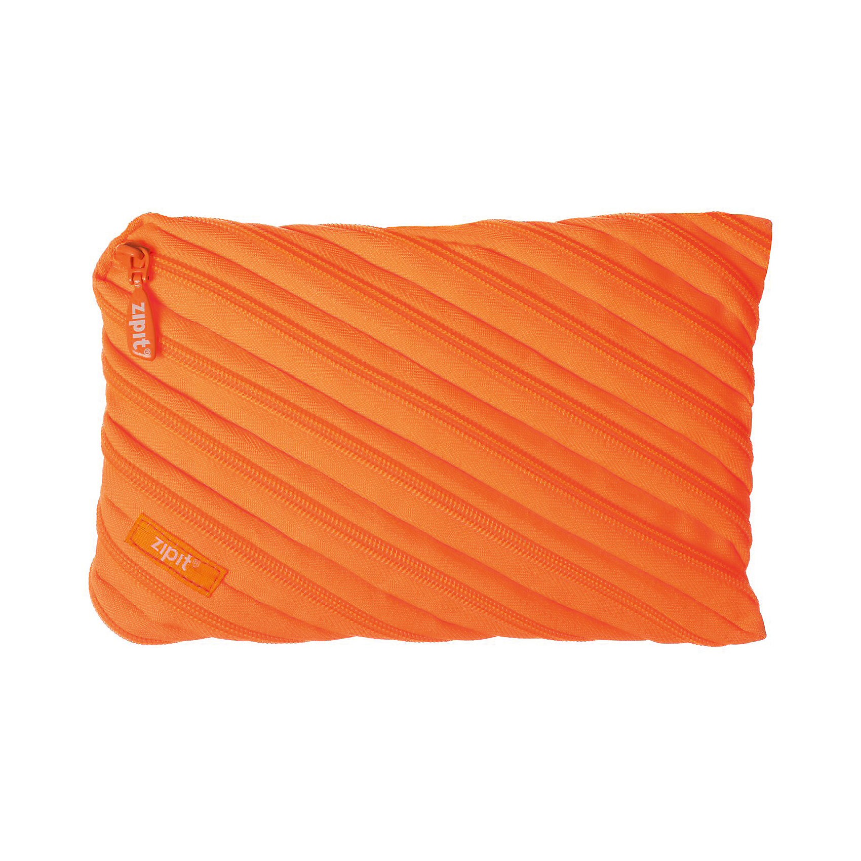 Пенал-сумочка NEON JUMBO POUCH, цвет оранжевыйПеналы без наполнения<br>Характеристики товара:<br><br>• цвет: оранжевый;<br>• возраст: от 3 лет;<br>• вес: 0,1 кг;<br>• размер: 23х2х15 см;<br>• одно вместительное отделение;<br>• изготовлен из длинной молнии;<br>• молнию можно полностью расстегнуть;<br>• материал: полиэстер;<br>• страна бренда: США;<br>• страна изготовитель: Китай.<br><br>Этот пенал из гибкой молнии выполнен в приятном оранжевом оттенке. Стоит обратить внимание на его практичный размер и форму, надежную застежку и вместительность. <br><br>Аксессуар вполне может послужить не только школьникам! Его можно использовать как косметичку, сумку для мелочей, чехол для техники. Стильные детали и актуальная расцветка – это дополнительные плюсы модели. <br><br>Пенал-сумочка «Neon Jumbo Pouch» можно купить в нашем интернет-магазине.<br><br>Ширина мм: 230<br>Глубина мм: 20<br>Высота мм: 150<br>Вес г: 100<br>Возраст от месяцев: 36<br>Возраст до месяцев: 720<br>Пол: Унисекс<br>Возраст: Детский<br>SKU: 7054174