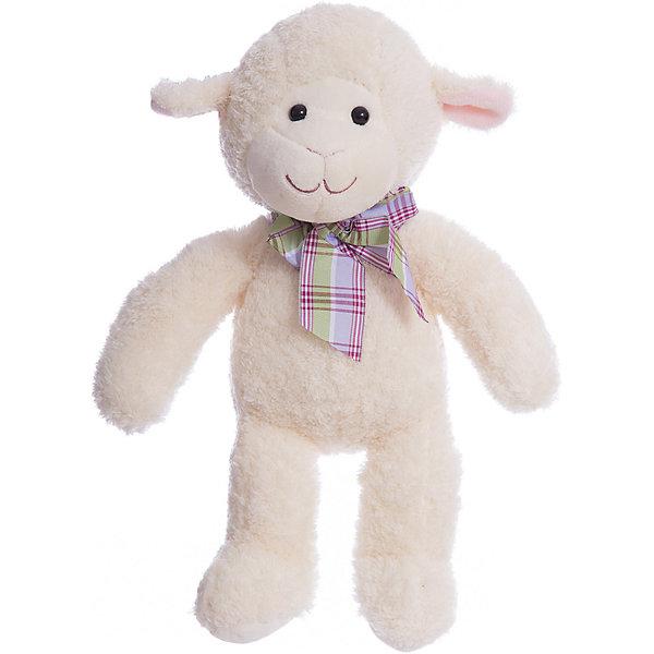 Мягкая игрушка Melissa&amp;Doug Овечка, 27 смМягкие игрушки животные<br>Характеристики:<br><br>• возраст: от 3 лет<br>• высота игрушки: 27 см.<br>• материал: текстиль, наполнитель<br><br>Мягкая игрушка, выполненная в виде овечки, станет любимой игрушкой малыша. У овечки миловидная мордашка, черные глаза-бусинки, вышитый ротик, торчащие ушки и мягкая приятная на ощупь шерстка. Ее сразу хочется крепко обнять и прижать к себе.<br><br>Игрушка выполнена из прочного текстиля, сертифицированного для производства детских изделий, а внутри у нее – гипоаллергенный наполнитель. Белоснежный цвет овечки надолго сохранит свой первоначальный оттенок и не пожелтеет, а в случае загрязнения, игрушку можно постирать.<br><br>Мягкую игрушку Melissa&amp;Doug Овечка можно купить в нашем интернет-магазине.<br>Ширина мм: 230; Глубина мм: 100; Высота мм: 360; Вес г: 294; Возраст от месяцев: 36; Возраст до месяцев: 2147483647; Пол: Унисекс; Возраст: Детский; SKU: 7054928;