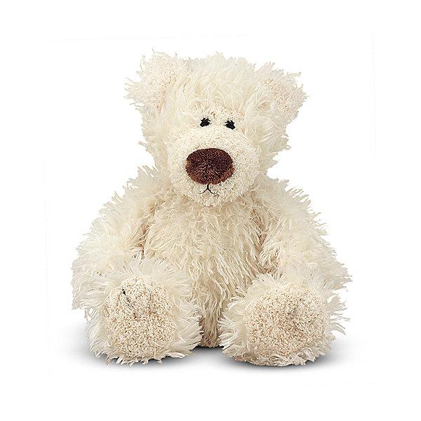 Мягкая игрушка Melissa&amp;Doug Белый Мишка, 13 смМягкие игрушки животные<br>Характеристики:<br><br>• возраст: от 3 лет<br>• высота игрушки: 13 см.<br>• материал: текстиль, наполнитель<br><br>Мягкая игрушка, выполненная в виде медвежонка, станет любимой игрушкой малыша. У медвежонка мягкая приятная на ощупь белоснежная шерстка, миловидная мордашка, мягкий носик. Его сразу хочется крепко обнять и прижать к себе. В медвежонка просто невозможно не влюбиться.<br><br>Игрушка выполнена из прочного текстиля, сертифицированного для производства детских изделий, а внутри у нее – гипоаллергенный наполнитель.<br><br>Мягкую игрушку Melissa&amp;Doug Белый Мишка можно купить в нашем интернет-магазине.<br><br>Ширина мм: 200<br>Глубина мм: 150<br>Высота мм: 170<br>Вес г: 90<br>Возраст от месяцев: 36<br>Возраст до месяцев: 2147483647<br>Пол: Унисекс<br>Возраст: Детский<br>SKU: 7054929